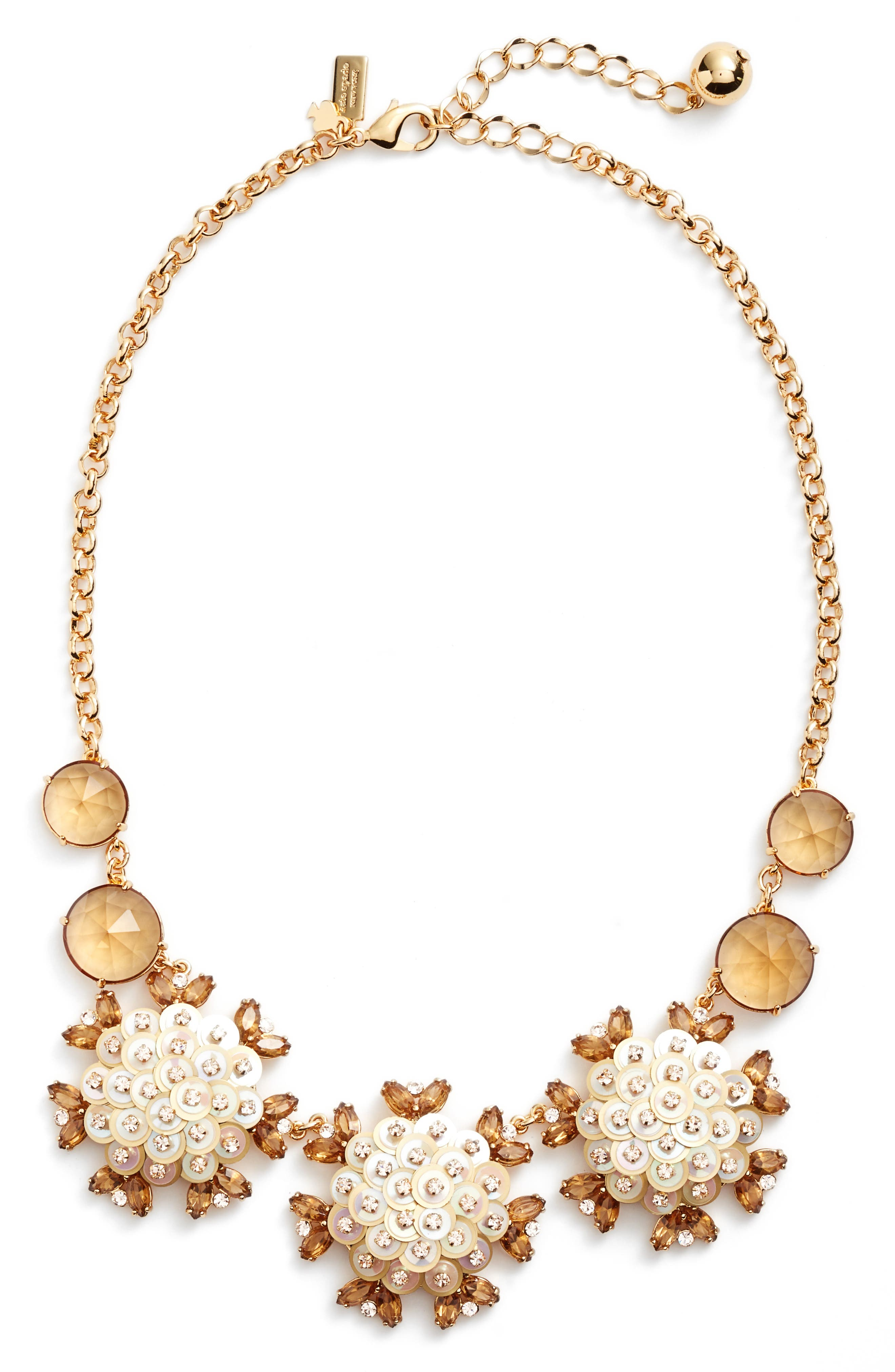 be bold statement collar necklace,                         Main,                         color, Gold Multi