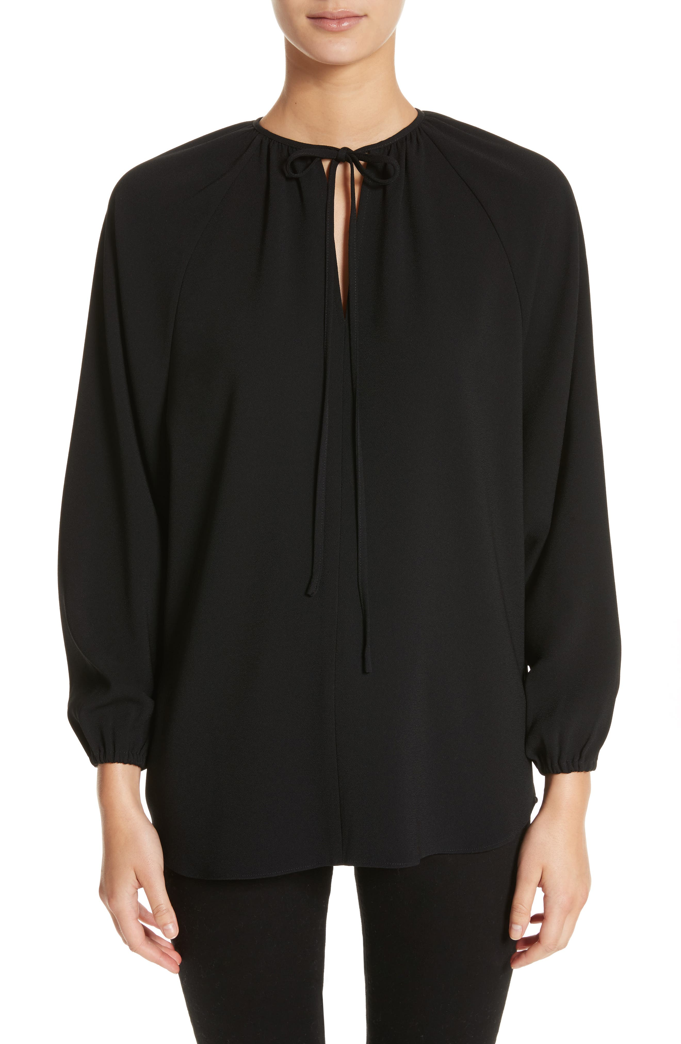 Alternate Image 1 Selected - Co Tie Neck Blouse