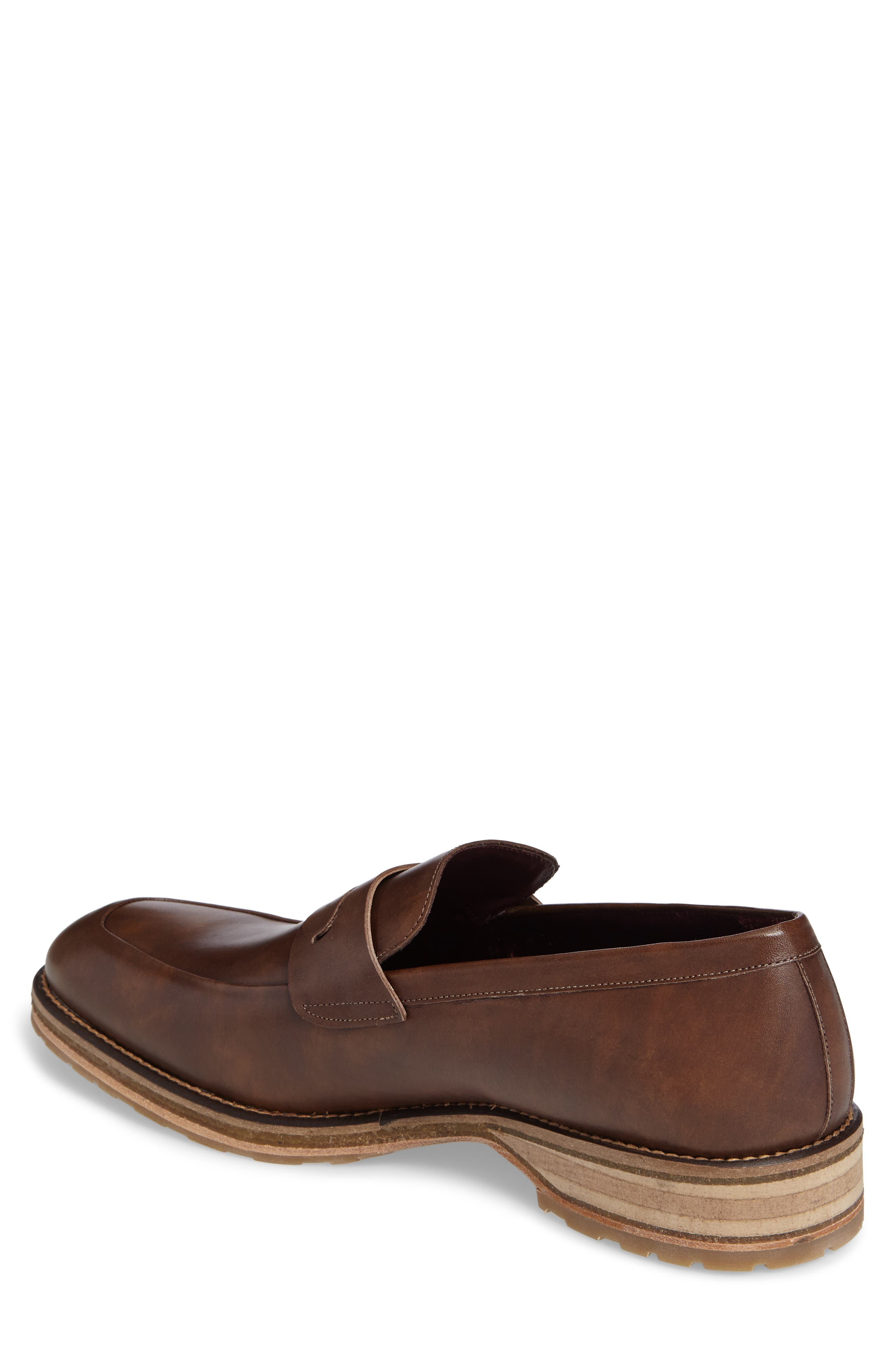 Cantonia Penny Loafer,                             Alternate thumbnail 2, color,                             Taupe Leather
