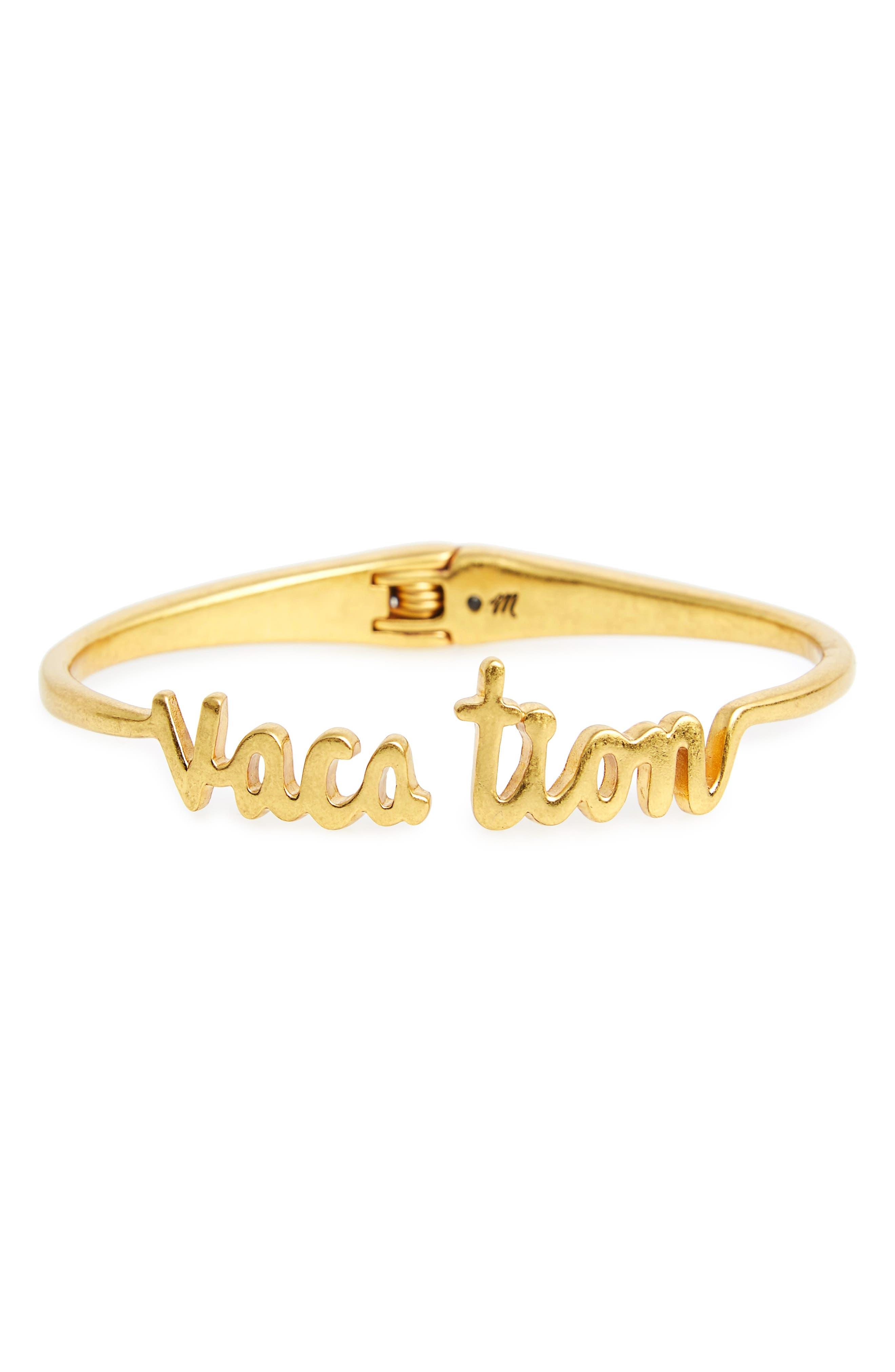 MADEWELL Vacation Hinge Bracelet