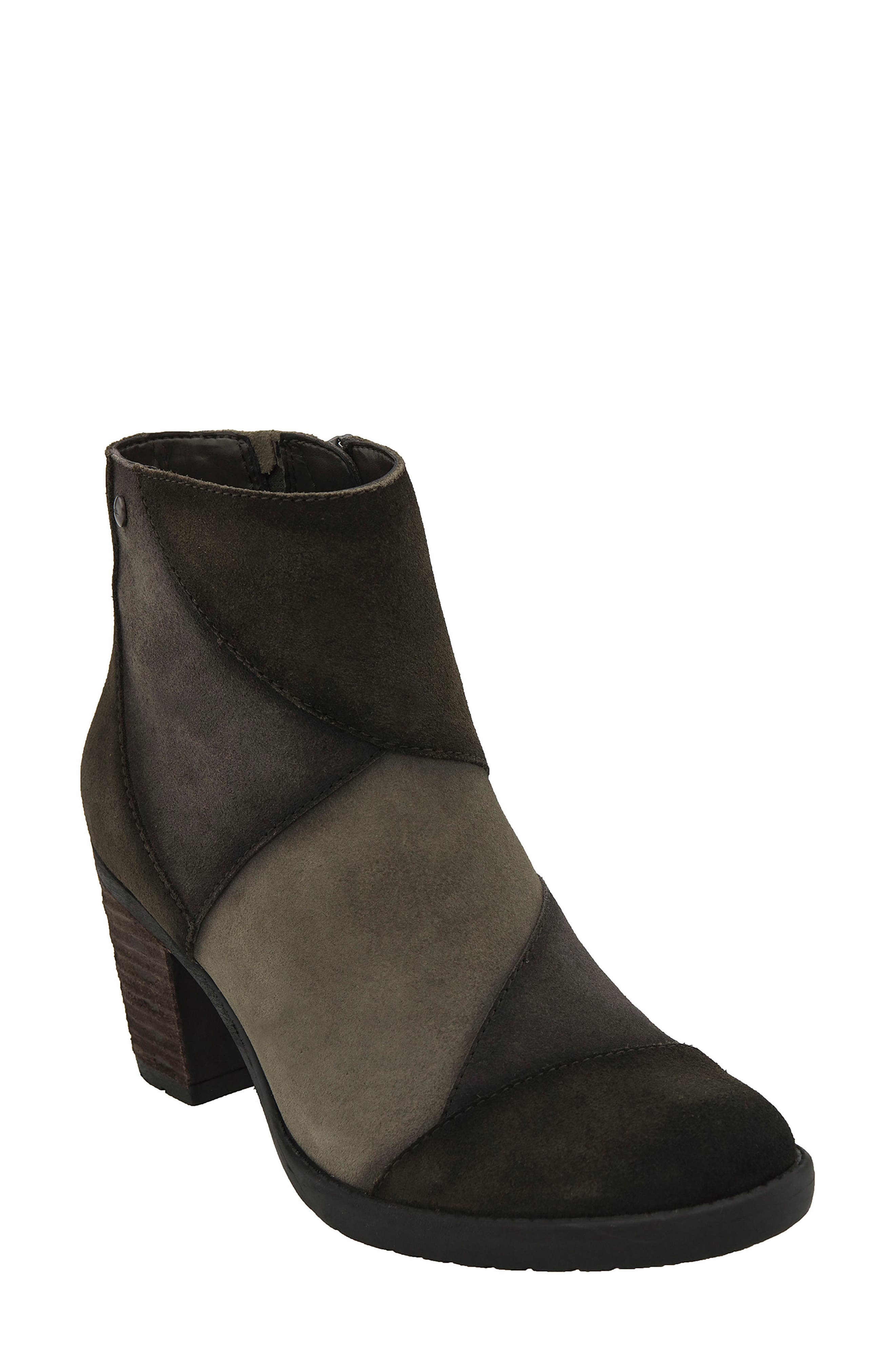 Malta Water Resistant Bootie,                             Main thumbnail 1, color,                             Olive Suede