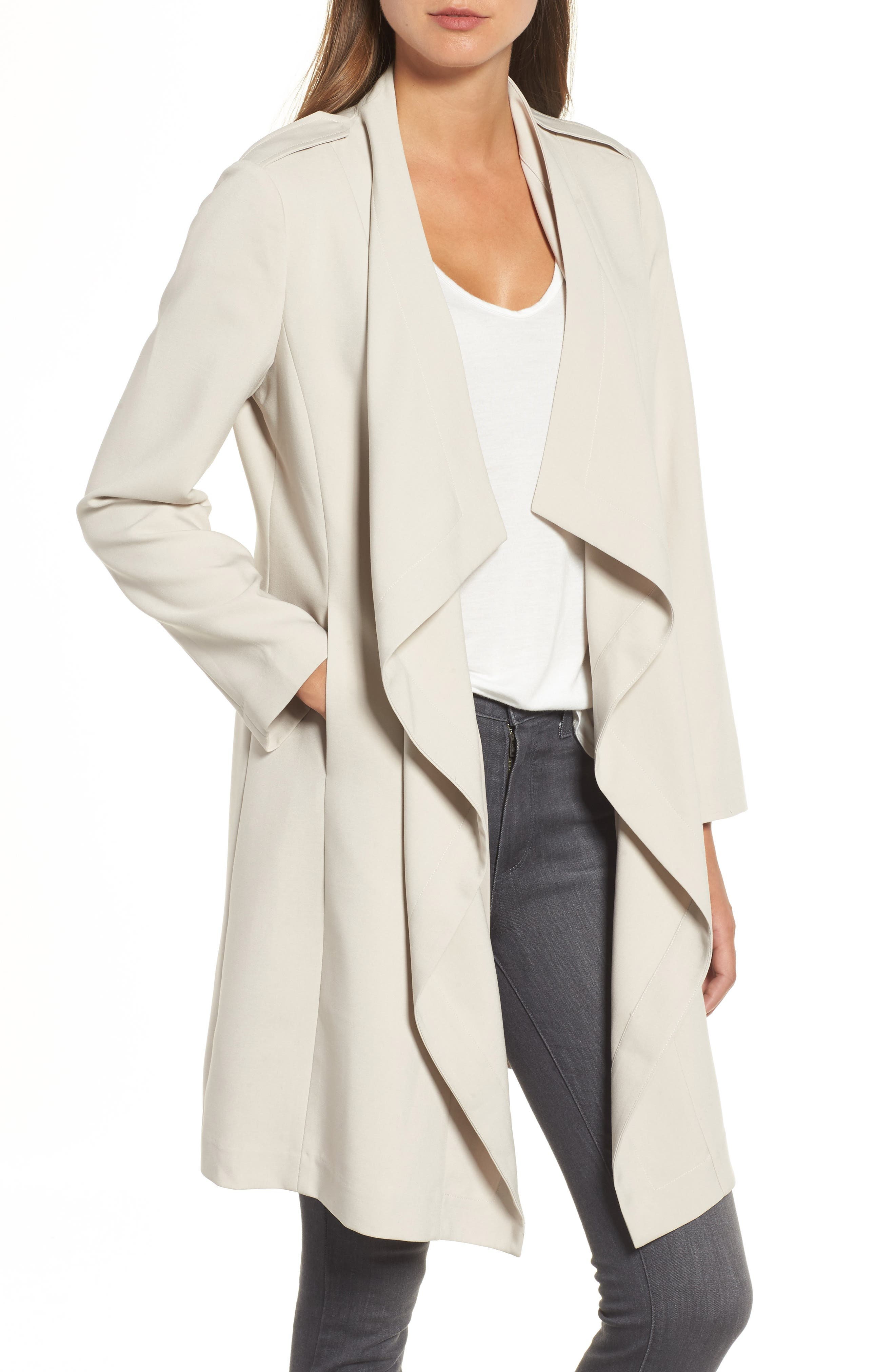 Bagatelle faux-leather (polyurethane) draped jacket. Draped, open front. BB Dakota Women's Wade Drape Front Faux Suede Jacket. by BB Dakota. $ $ 00 Prime. FREE Shipping on eligible orders. Some sizes/colors are Prime eligible. 5 out of 5 stars 3. Product Features Drape front.