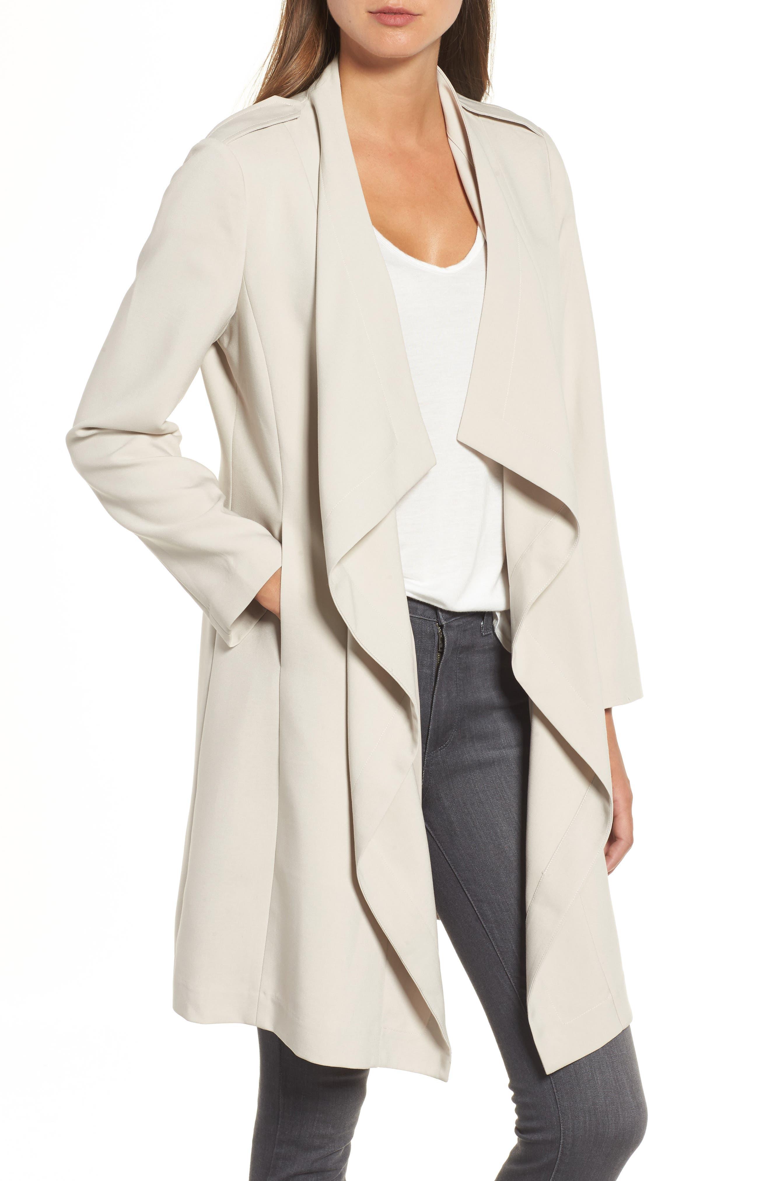Drape Jacket,                         Main,                         color, Grey