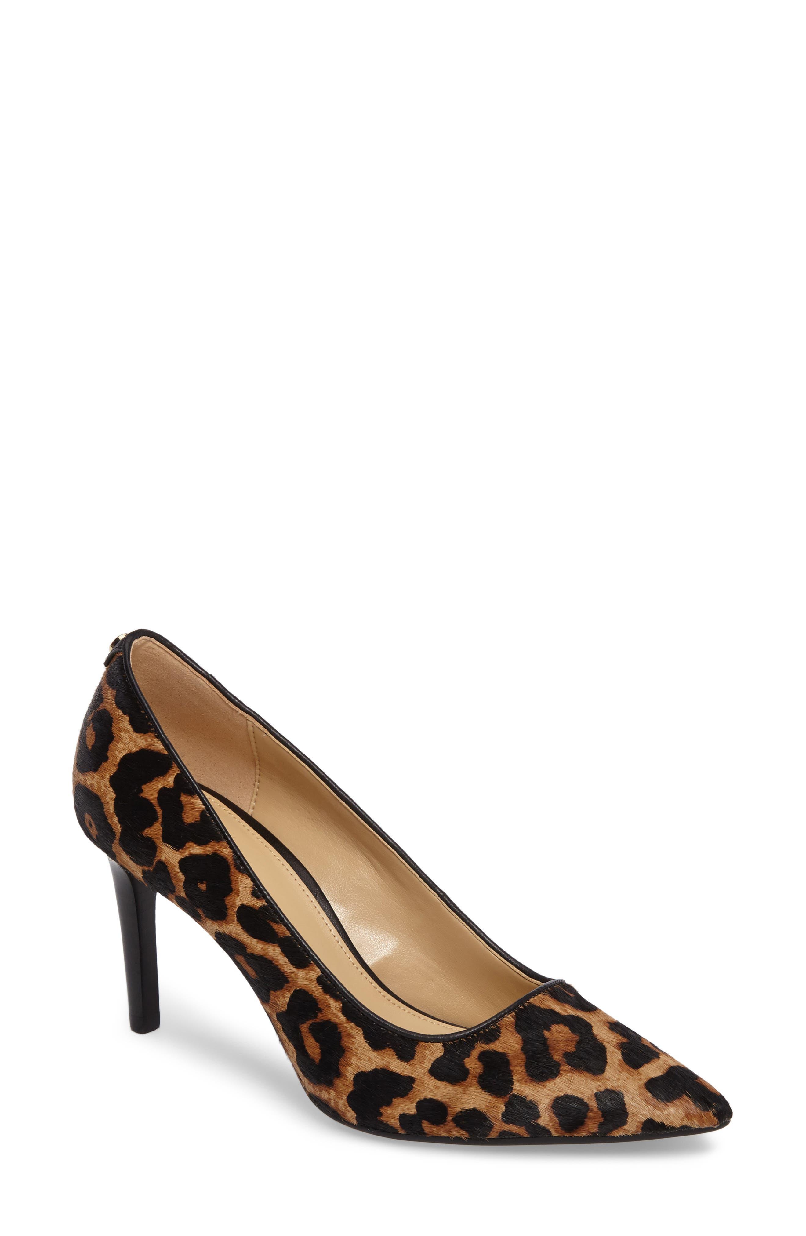 Dorothy Flex Genuine Calf Hair Pump,                             Main thumbnail 1, color,                             Cheetah Hair Calf