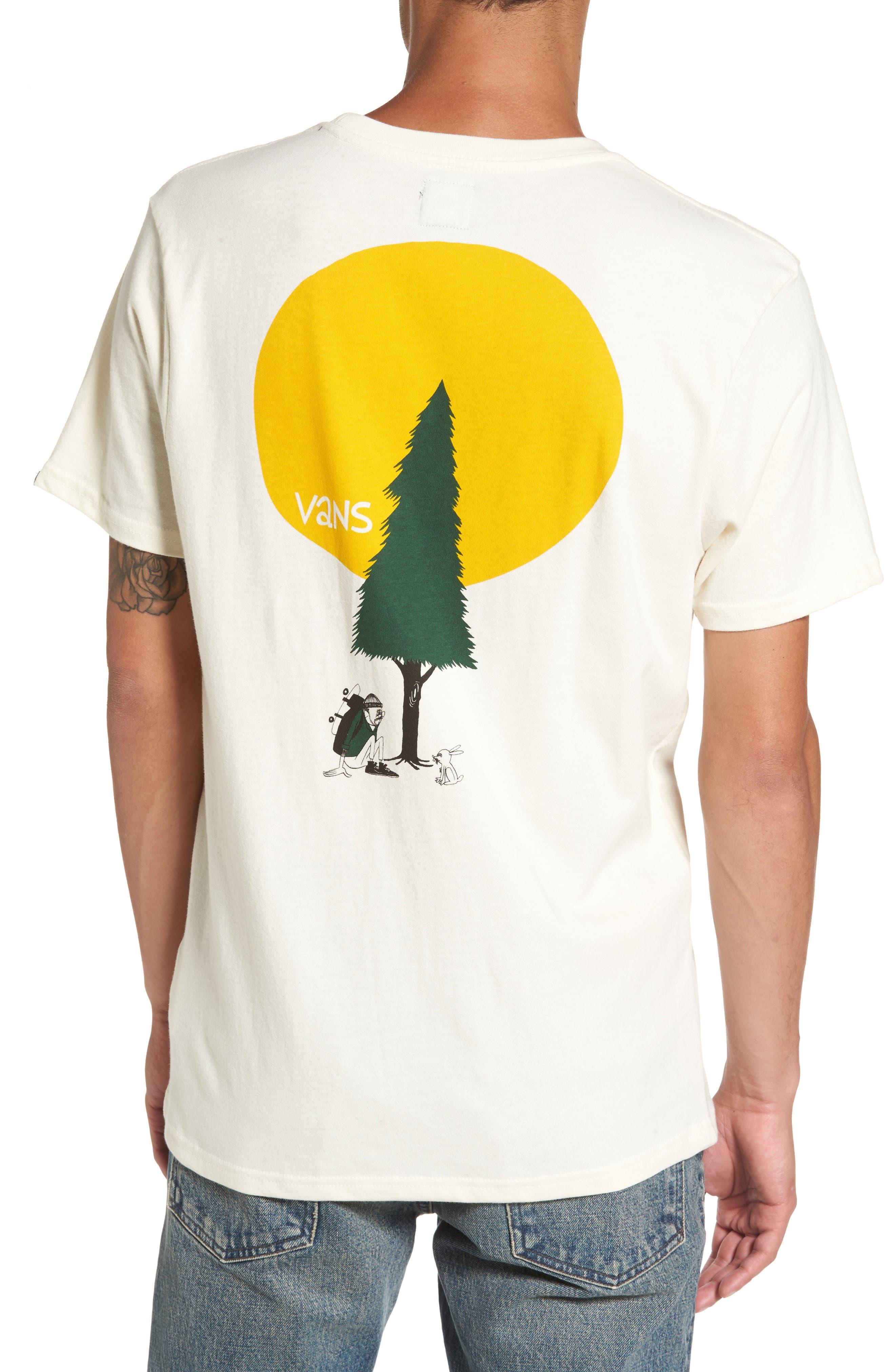Alternate Image 2  - Vans x Yusuke Hanai Outdoors Graphic Pocket T-Shirt