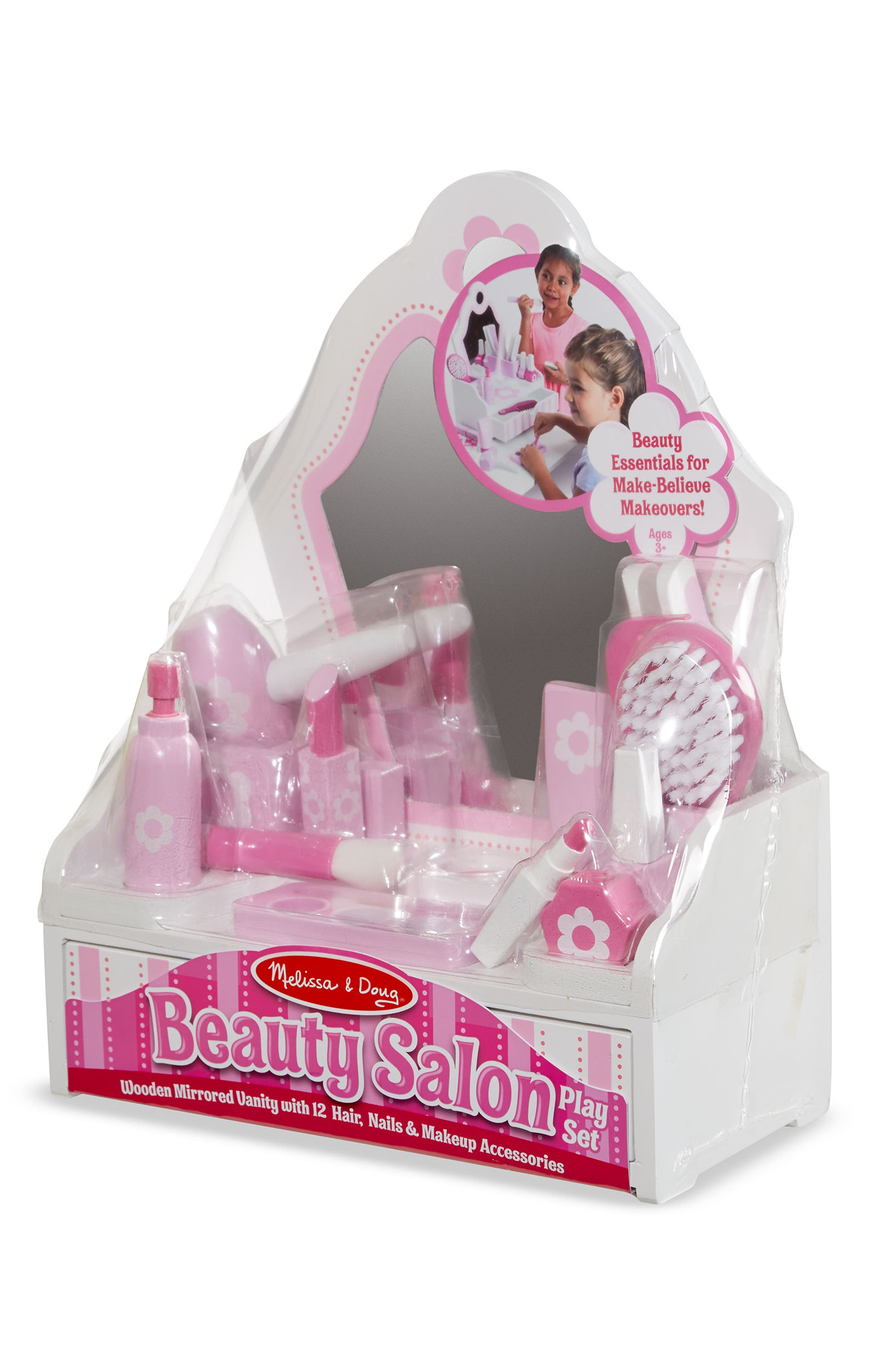 Vanity Play Set,                             Alternate thumbnail 3, color,                             Pink Multi