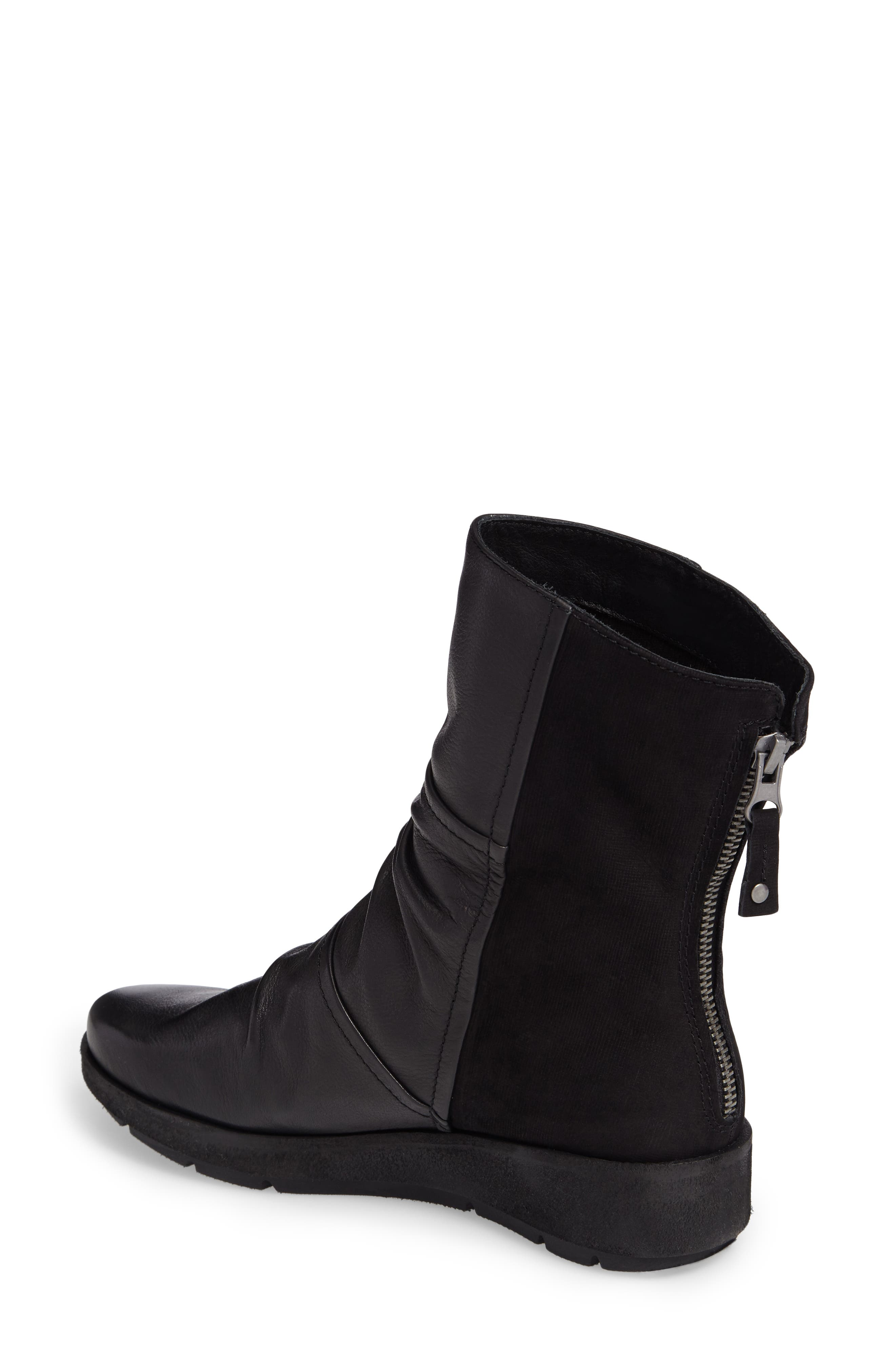 Pilgrim Boot,                             Alternate thumbnail 2, color,                             Black Leather
