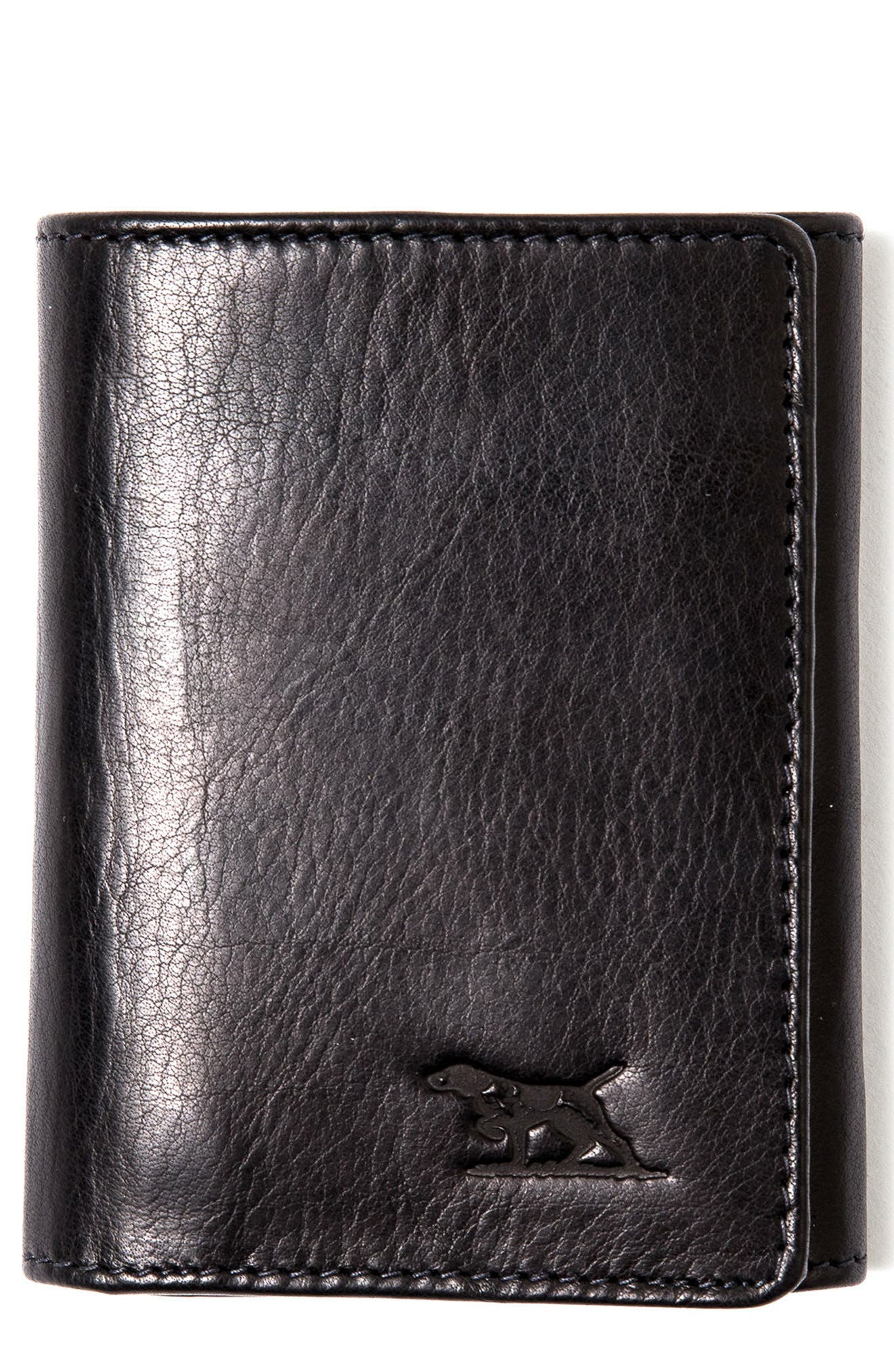 French Farm Wallet,                         Main,                         color, Onyx
