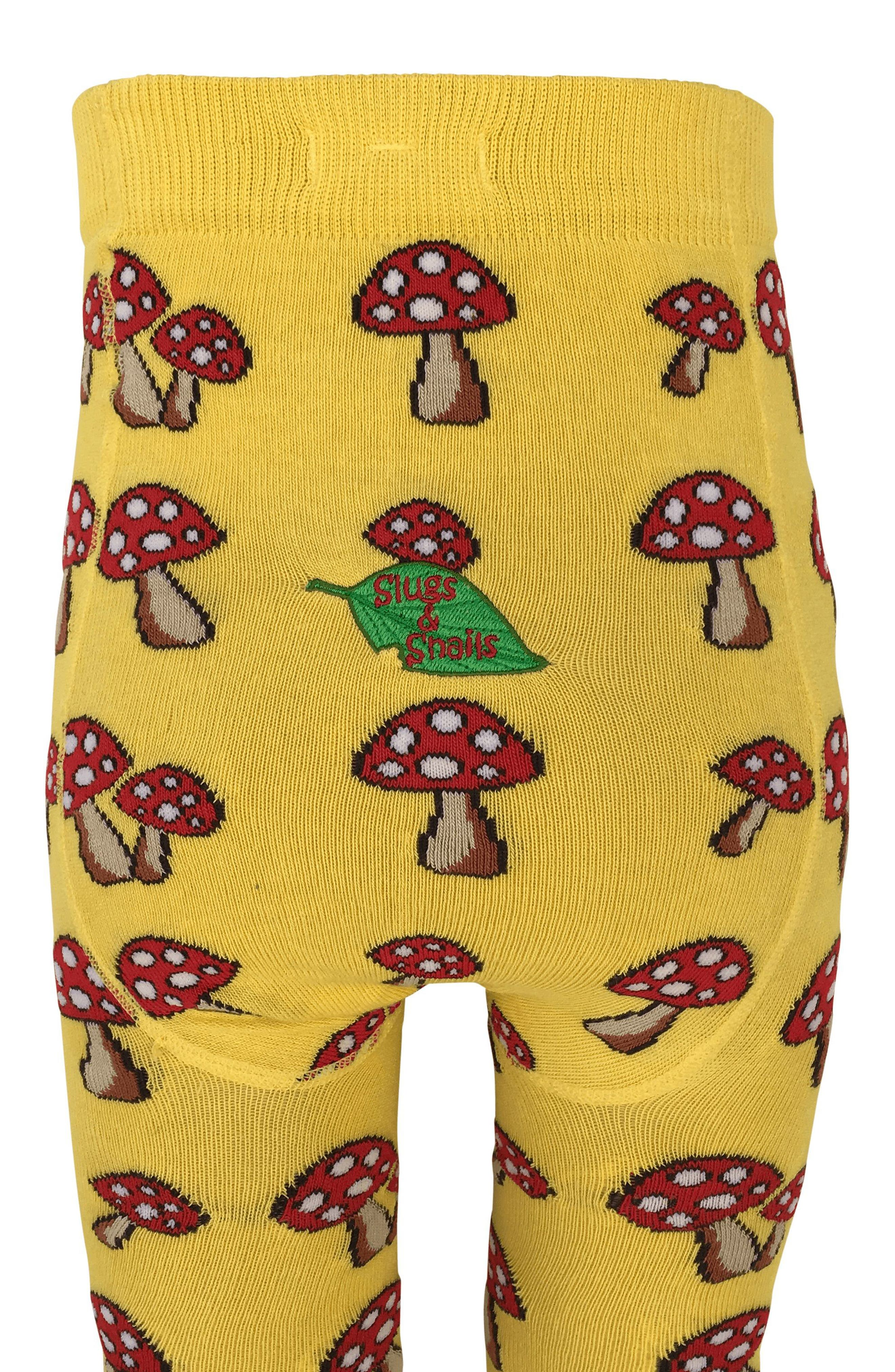 Toadstool Tights,                             Alternate thumbnail 2, color,                             Yellow