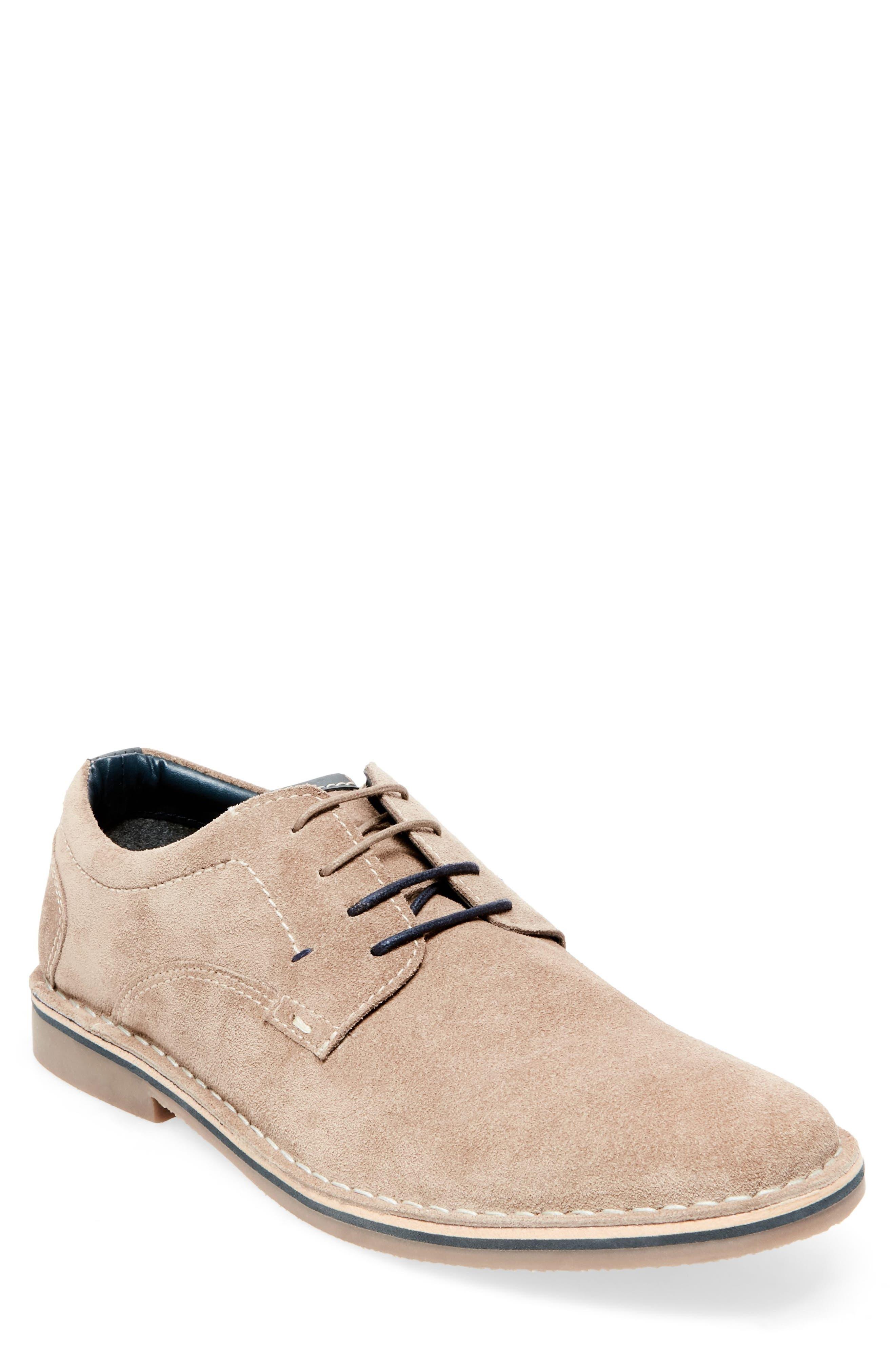 Hatrick Buck Shoe,                         Main,                         color, Taupe Suede