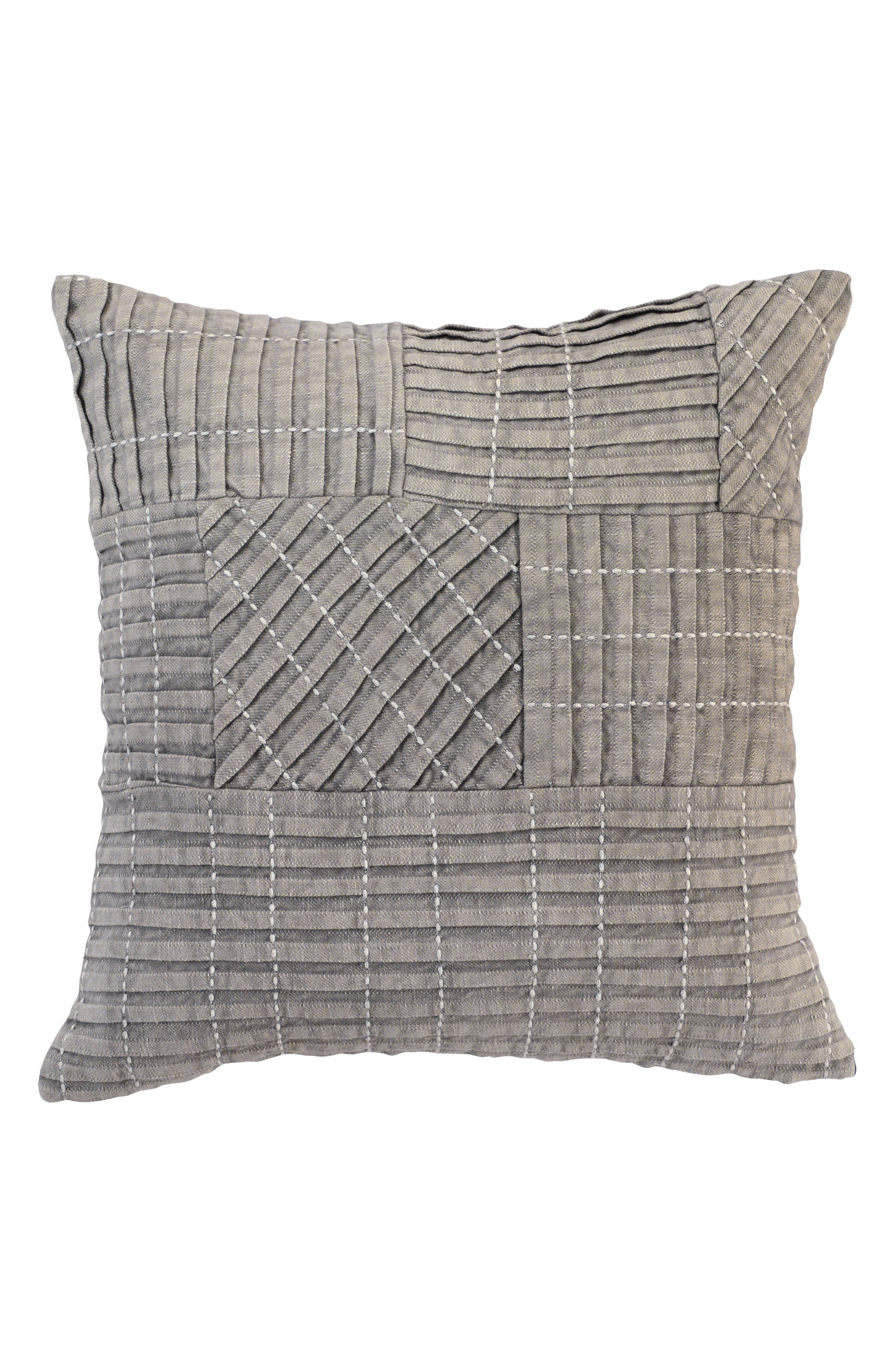 Taby Accent Pillow,                             Main thumbnail 1, color,                             Grey