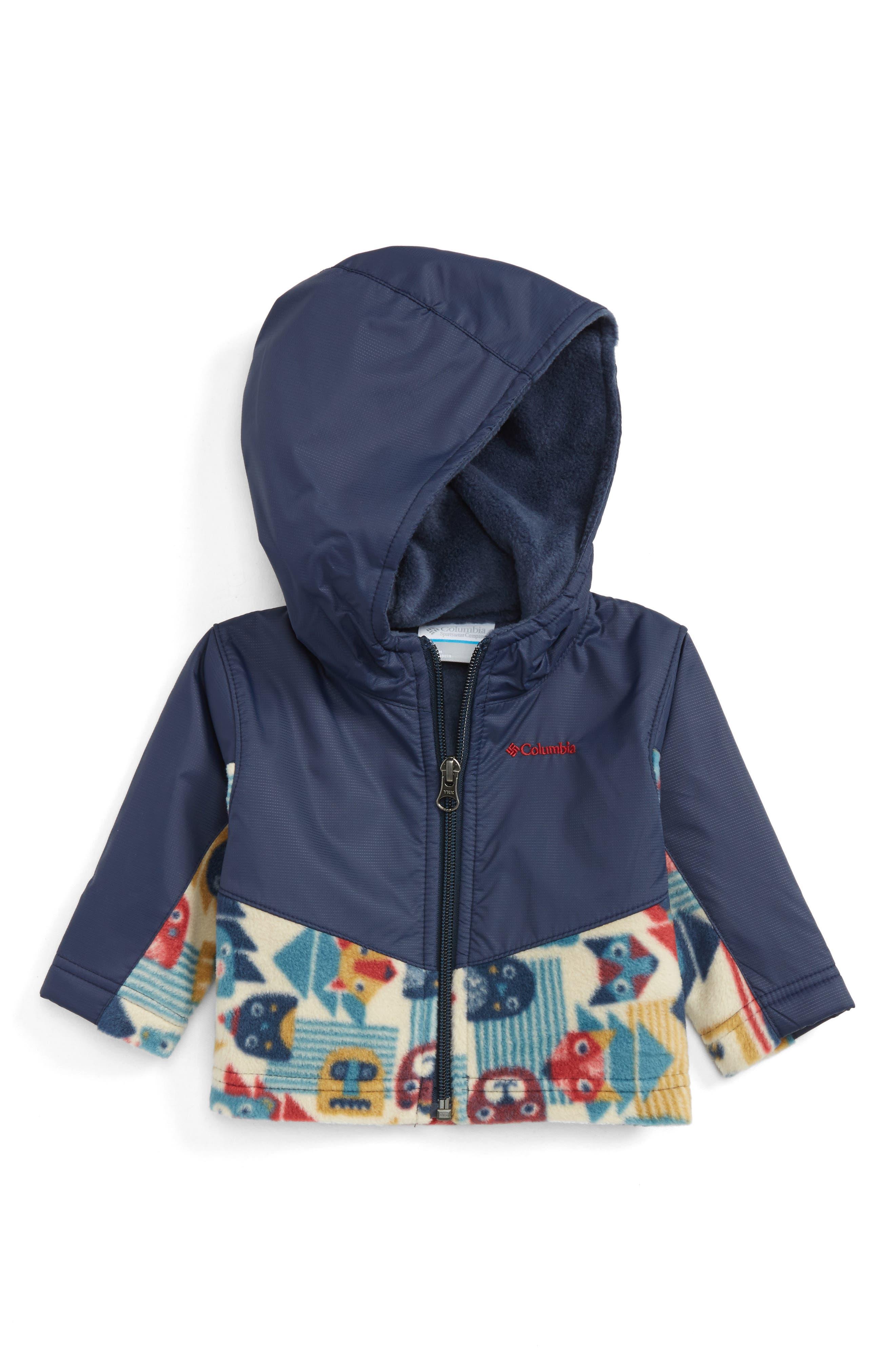 Columbia Steens Mountain™ Overlay Hooded Jacket (Baby Boys)