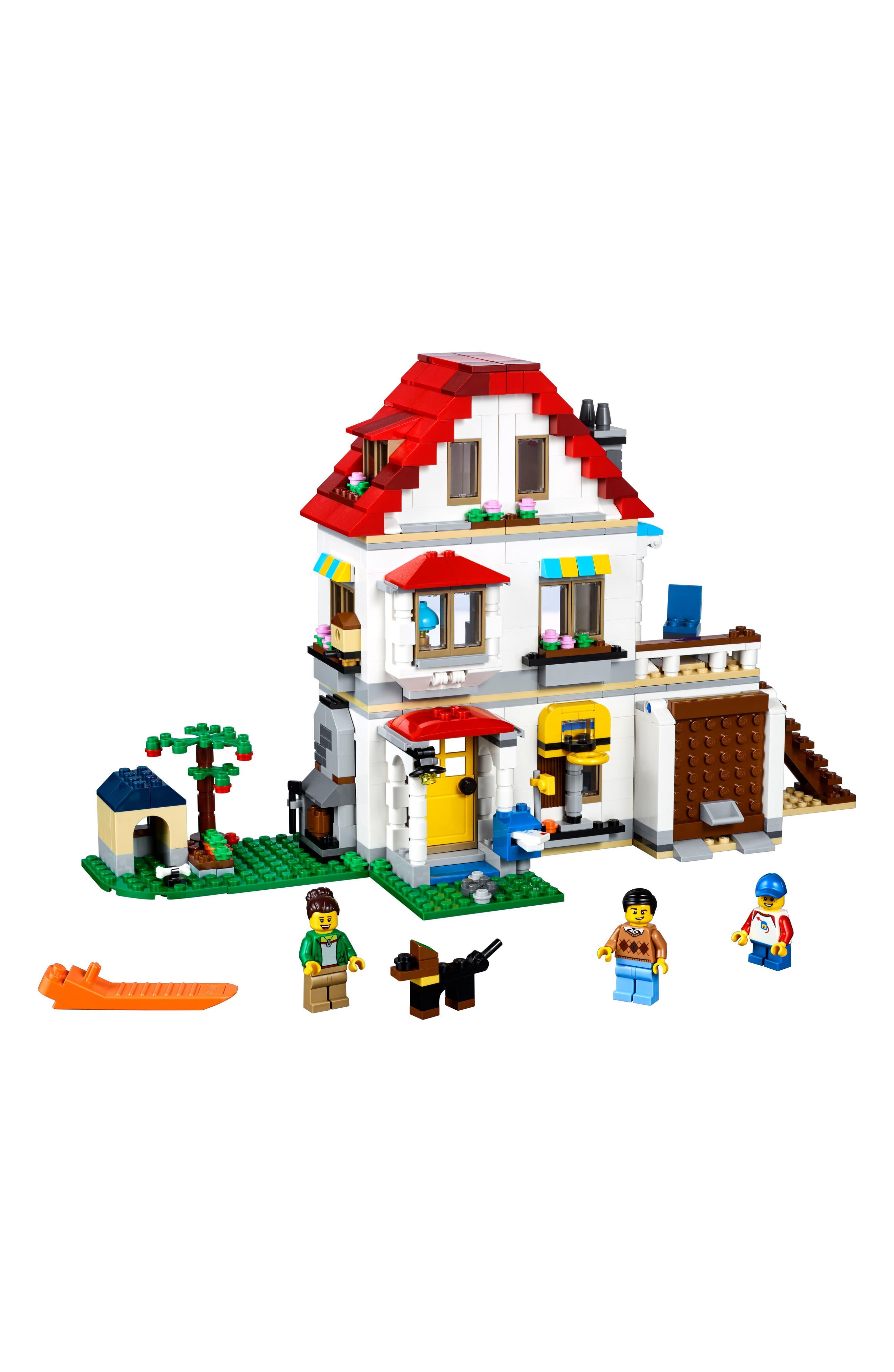 Creator Modular Family Villa Play Set - 31069,                             Alternate thumbnail 2, color,                             Multi