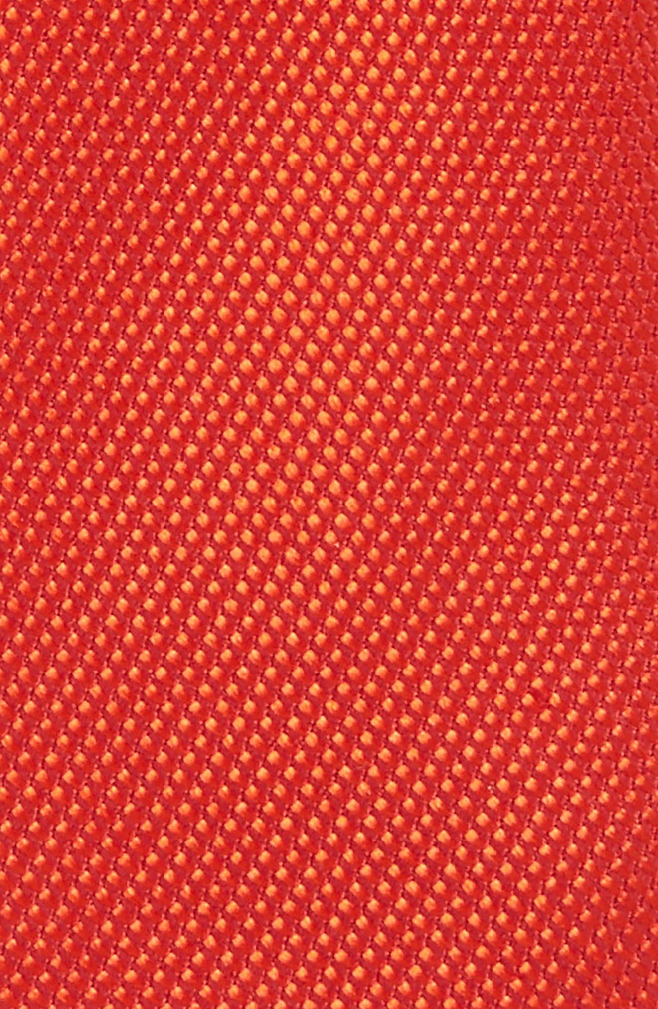 Alternate Image 2  - Nordstrom Solid Silk Tie (Big Boys)
