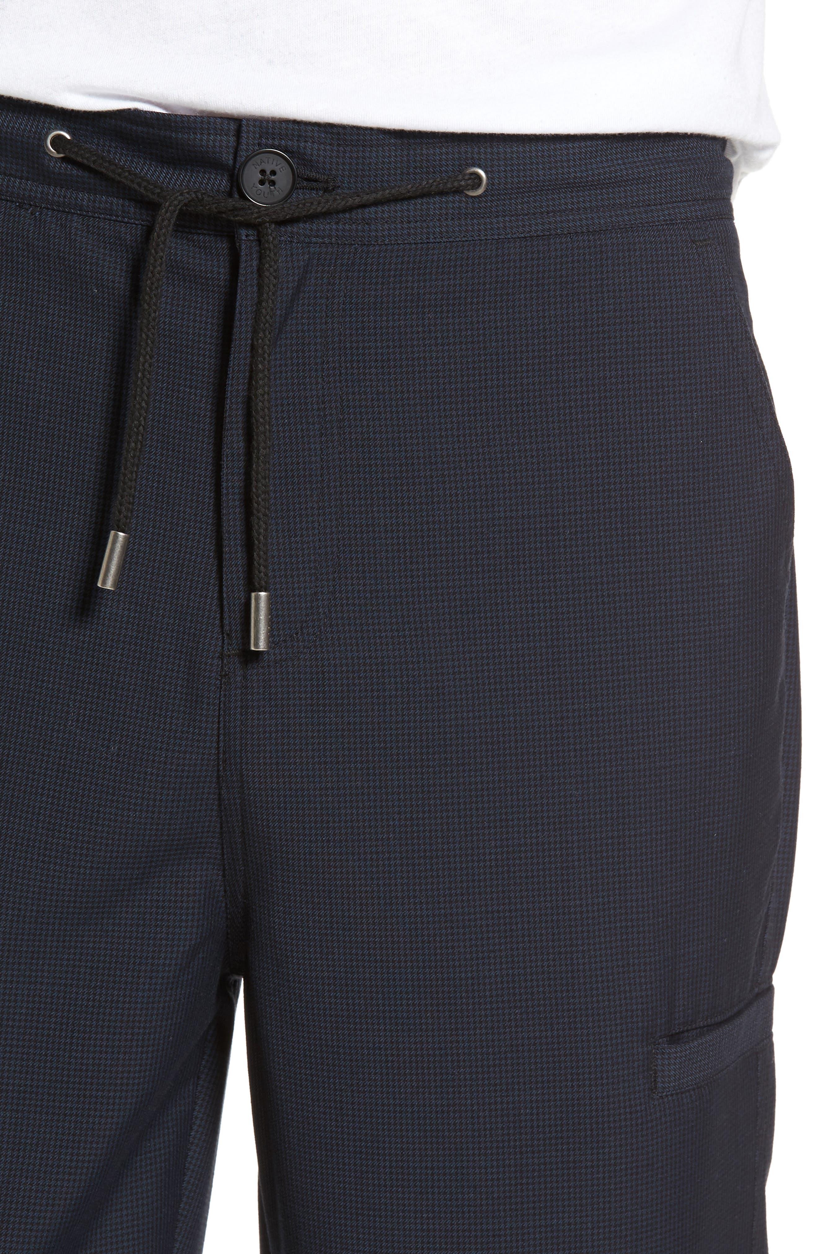 Haycroft Trousers,                             Alternate thumbnail 4, color,                             Navy