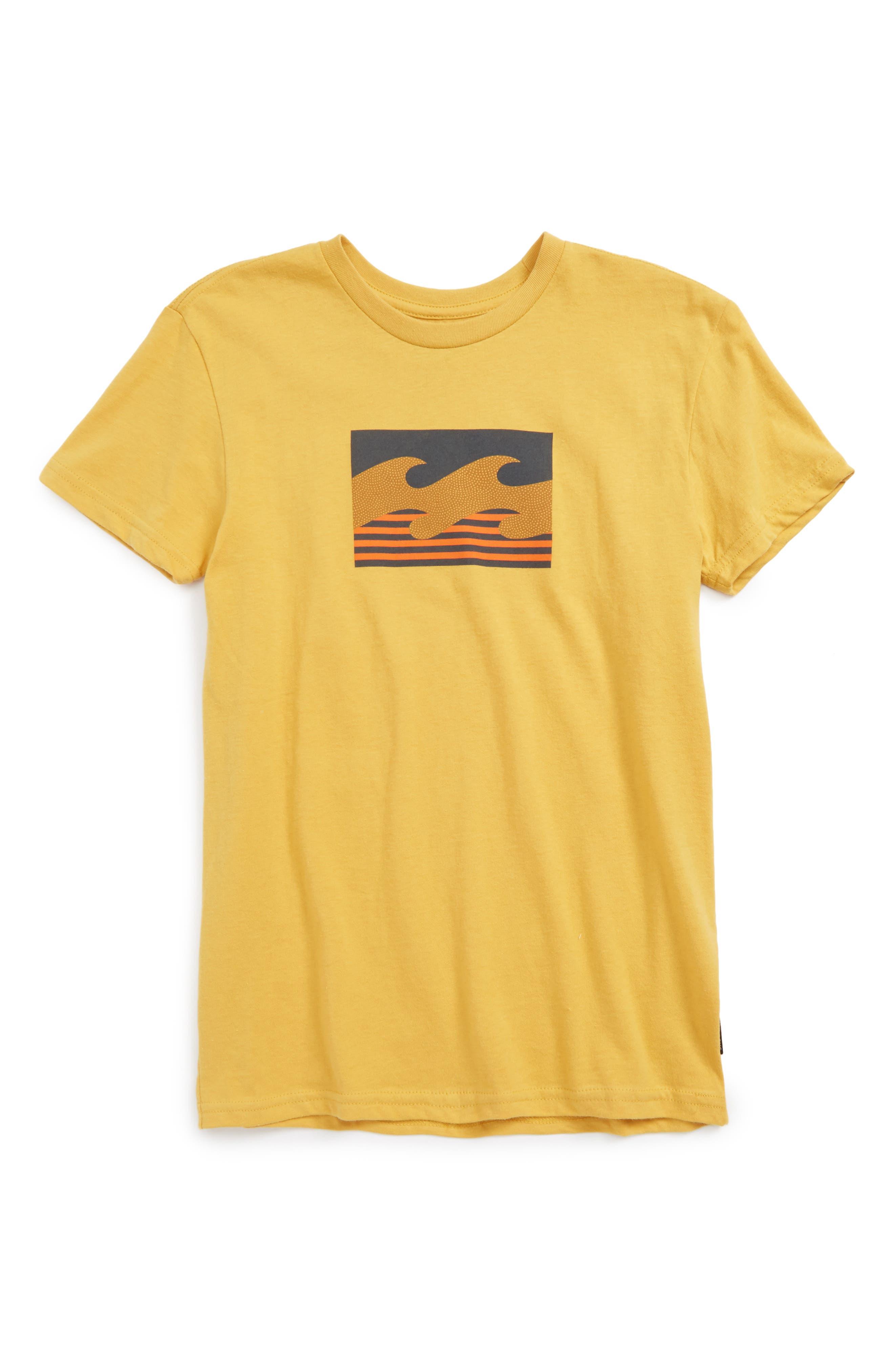 Billabong Team Wave T-Shirt (Toddler Boys, Little Boys & Big Boys)