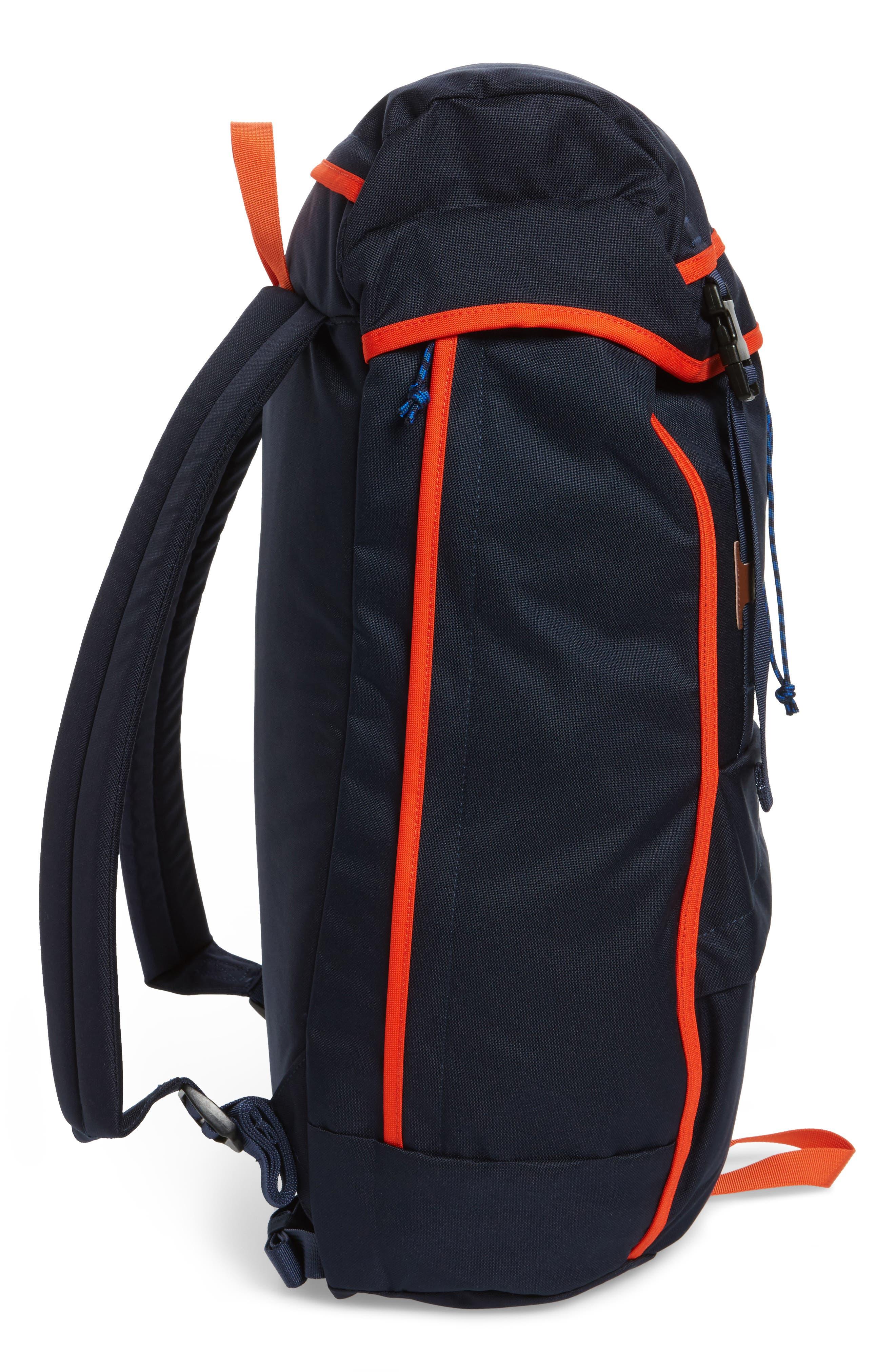 Arbor Grande 32-Liter Backpack,                             Alternate thumbnail 5, color,                             Navy Blue/ Paintbrush Red