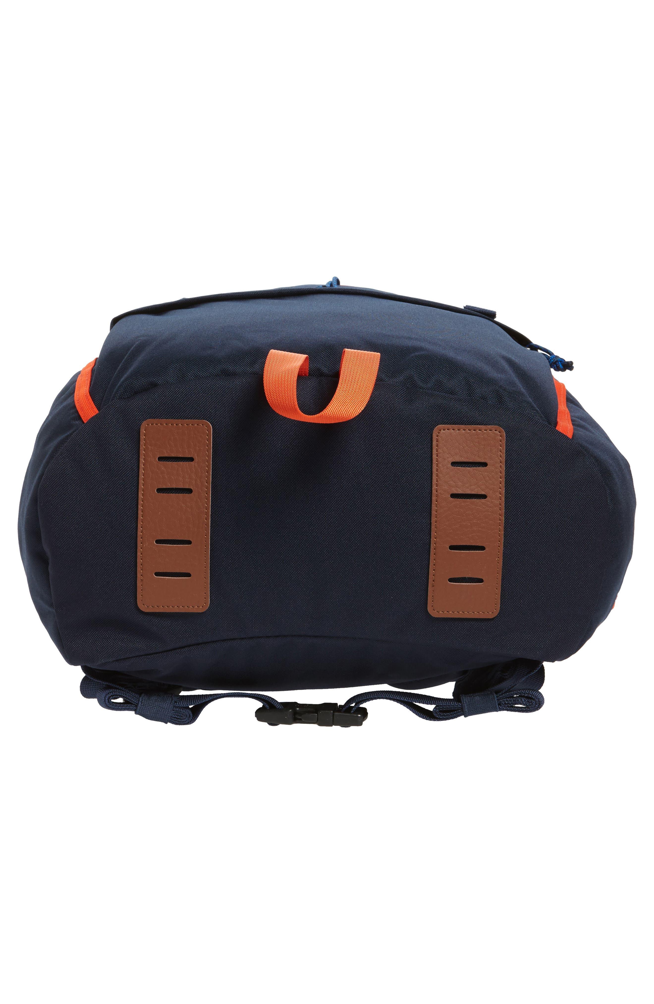 Arbor Grande 32-Liter Backpack,                             Alternate thumbnail 6, color,                             Navy Blue/ Paintbrush Red