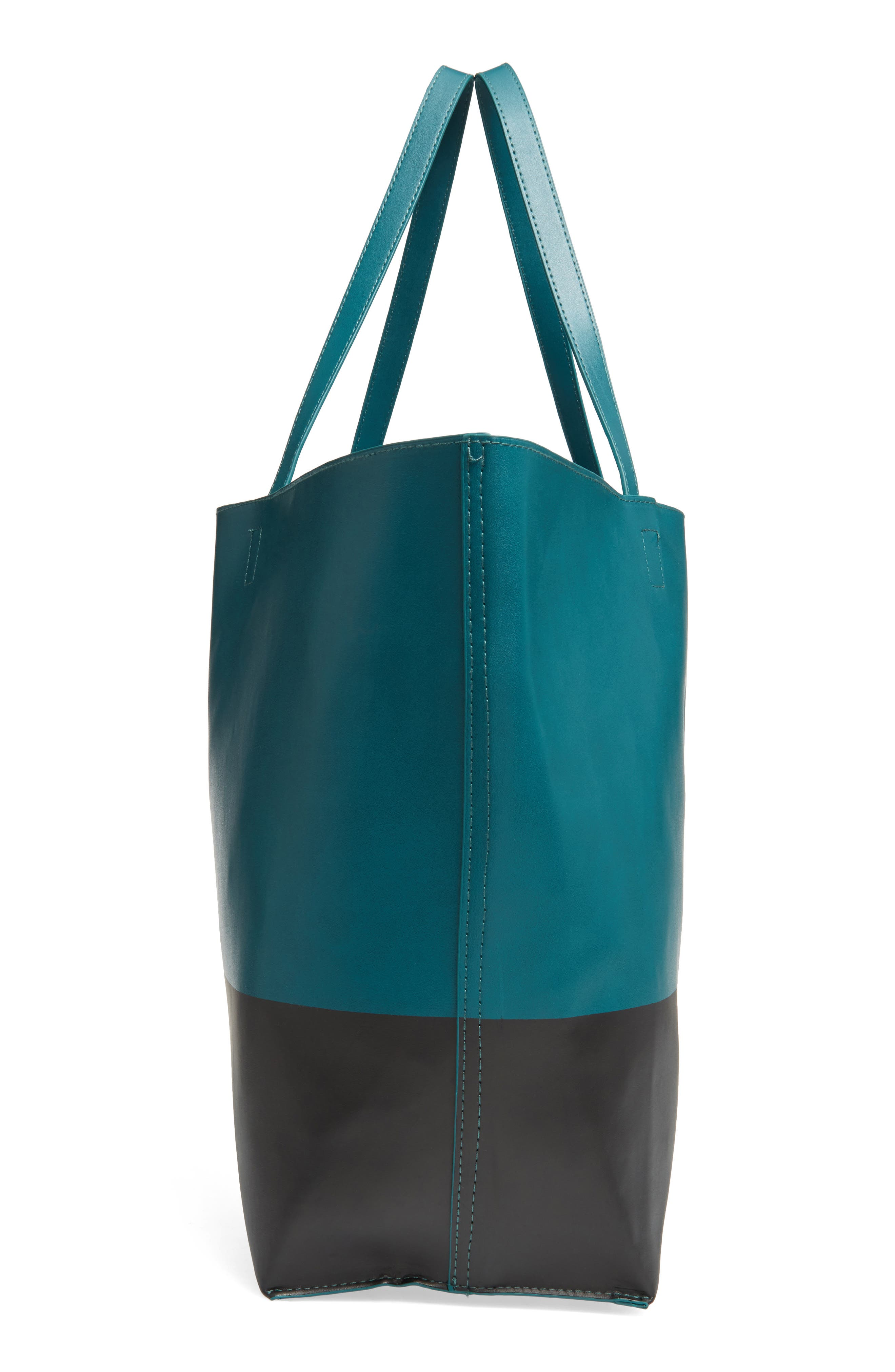 Alternate Image 4  - BP. Colorblock Faux Leather Tote