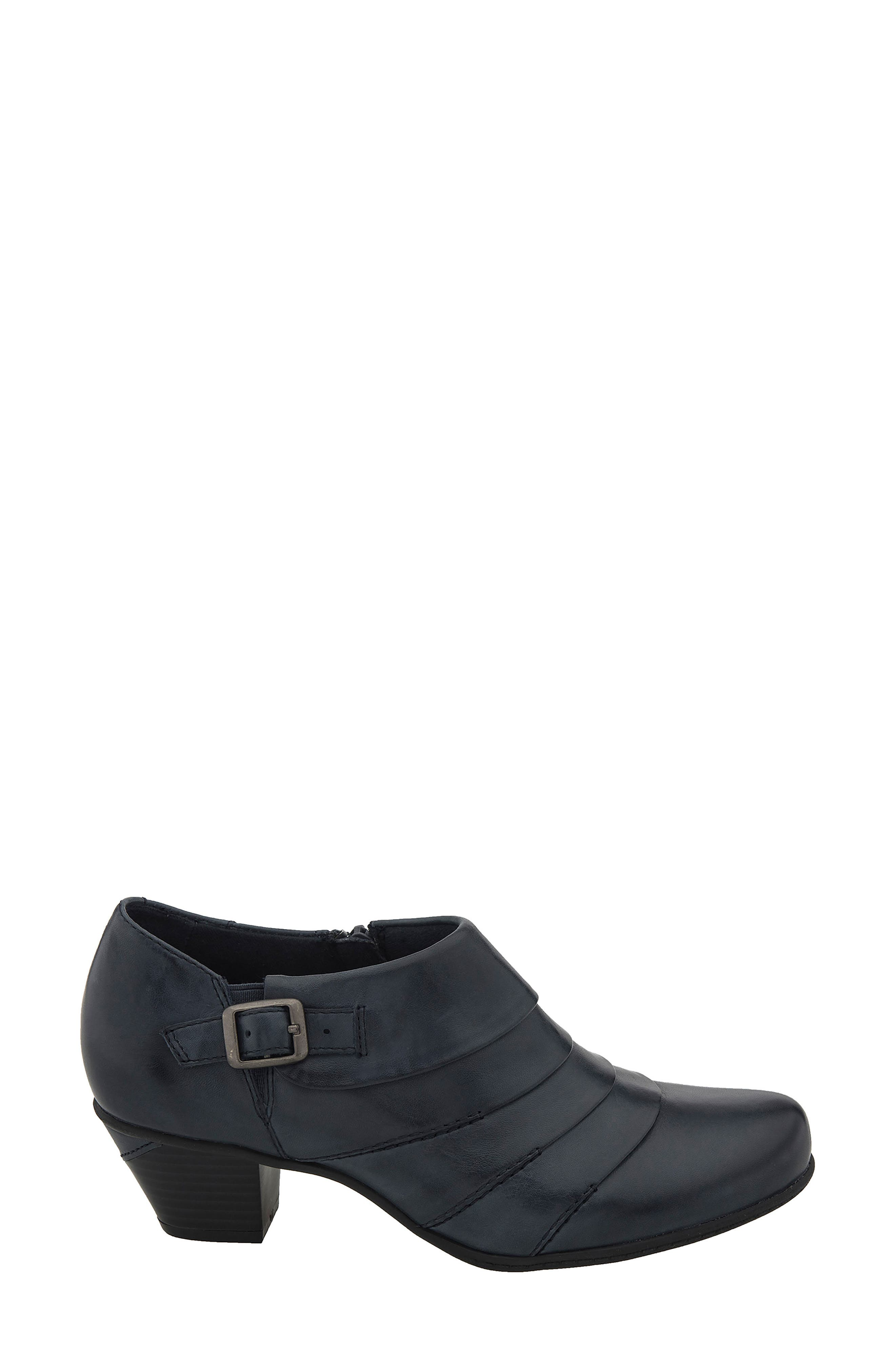 Dawn Bootie,                             Alternate thumbnail 3, color,                             Admiral Blue Leather