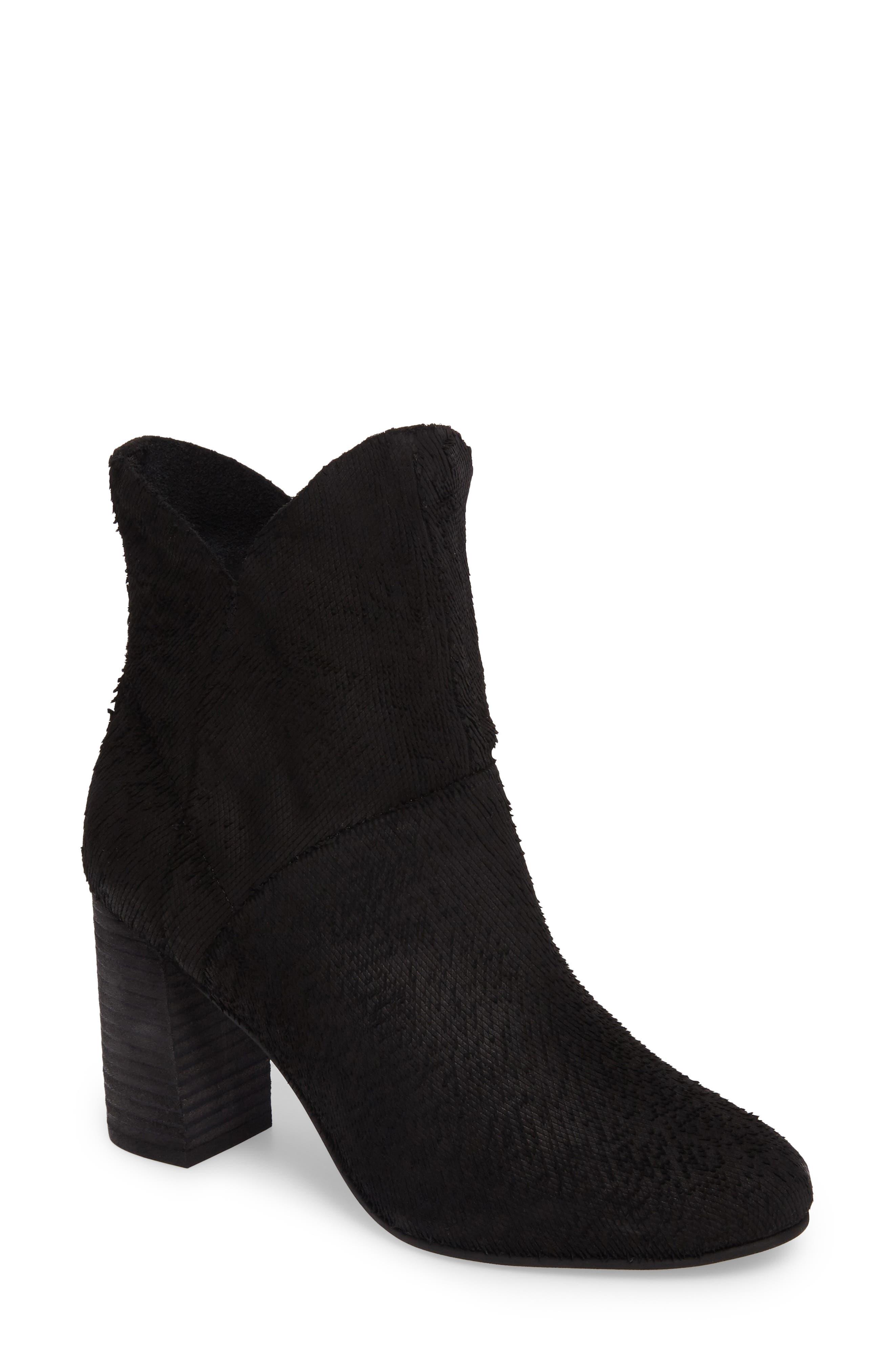 Prop Boot,                         Main,                         color, Black Suede