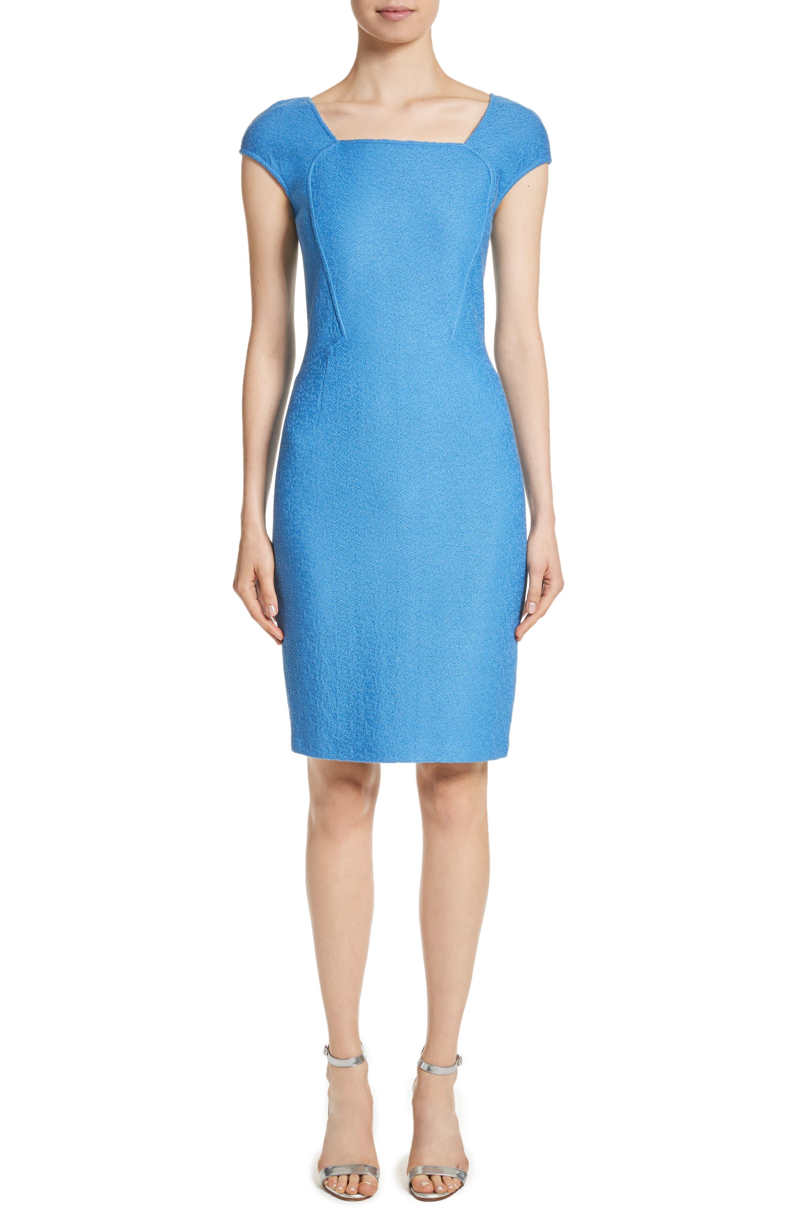 Hannah Knit Dress,                         Main,                         color, Niagara