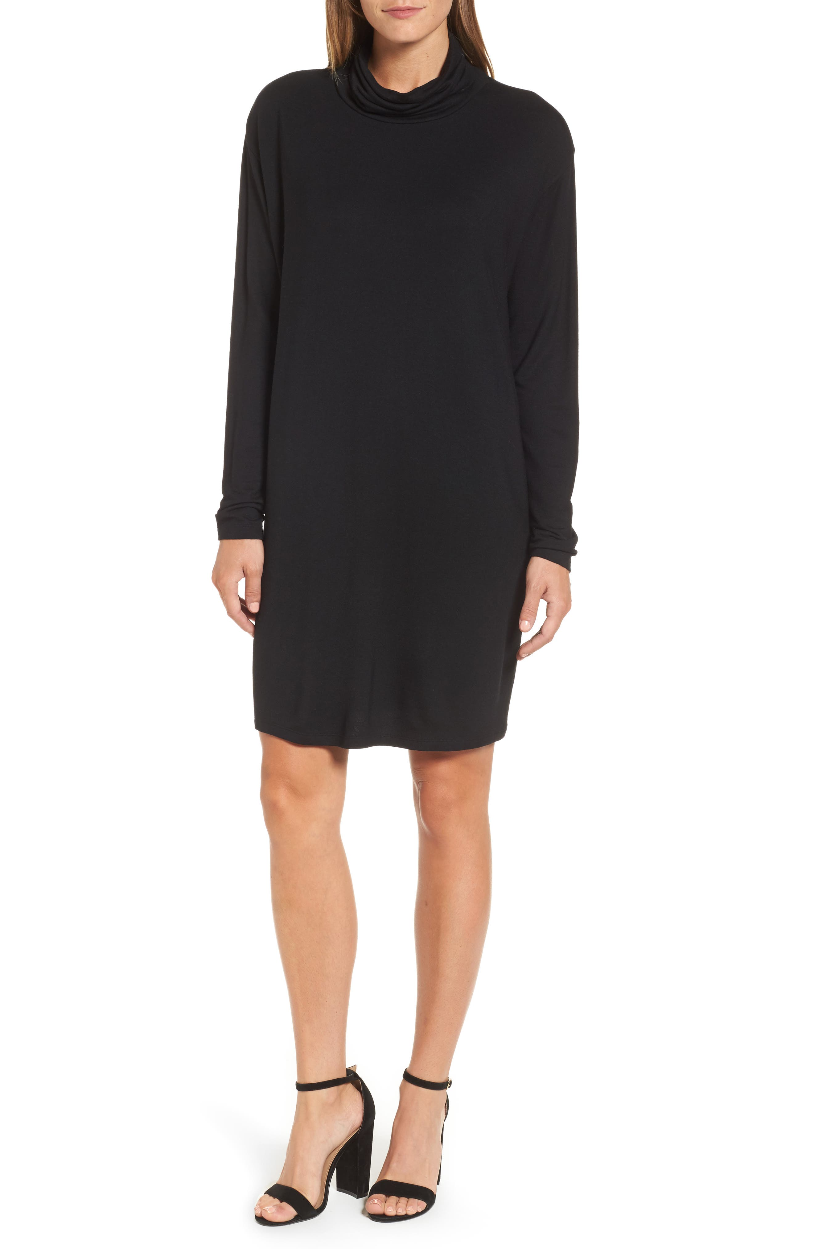 PRESS Slouchy Turtleneck Dress
