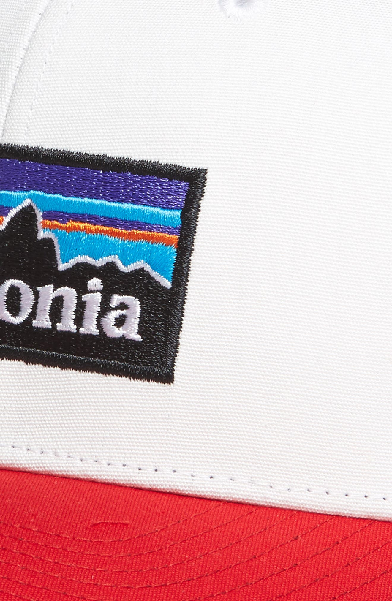 Alternate Image 3  - Patagonia P-6 Logo Trucker Hat