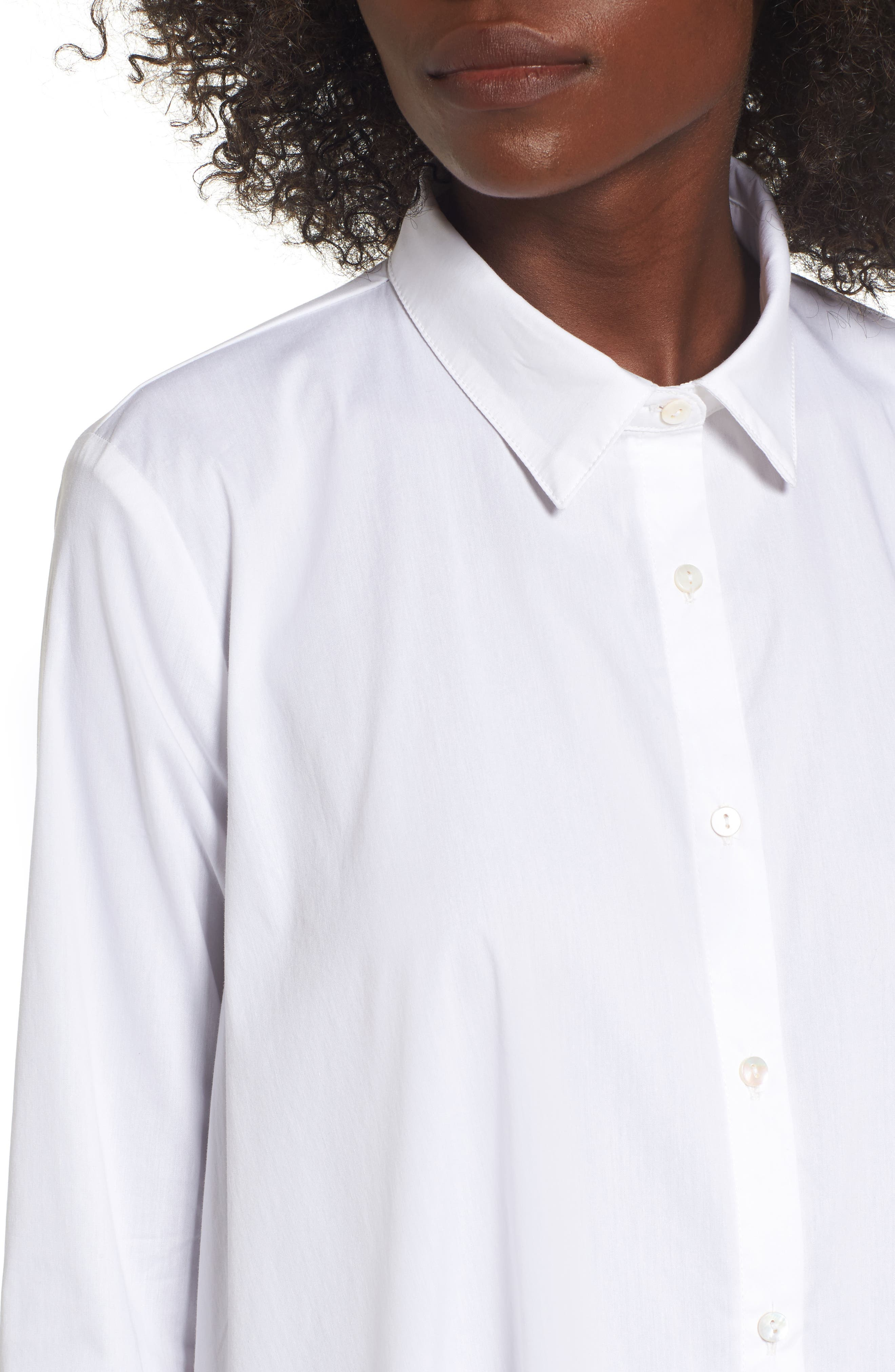 Alternate Image 4  - Leith Oversize High/Low Blouse