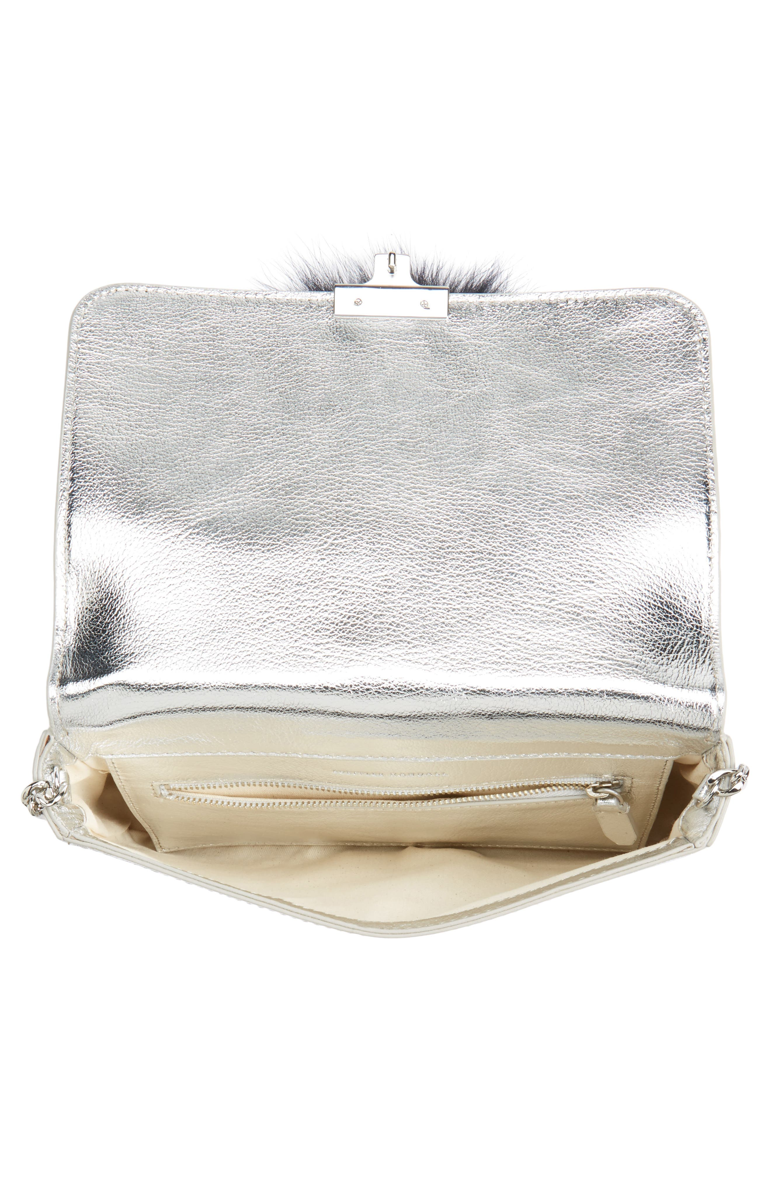 Alternate Image 4  - Loeffler Randall Lock Genuine Fox Fur Shoulder Bag