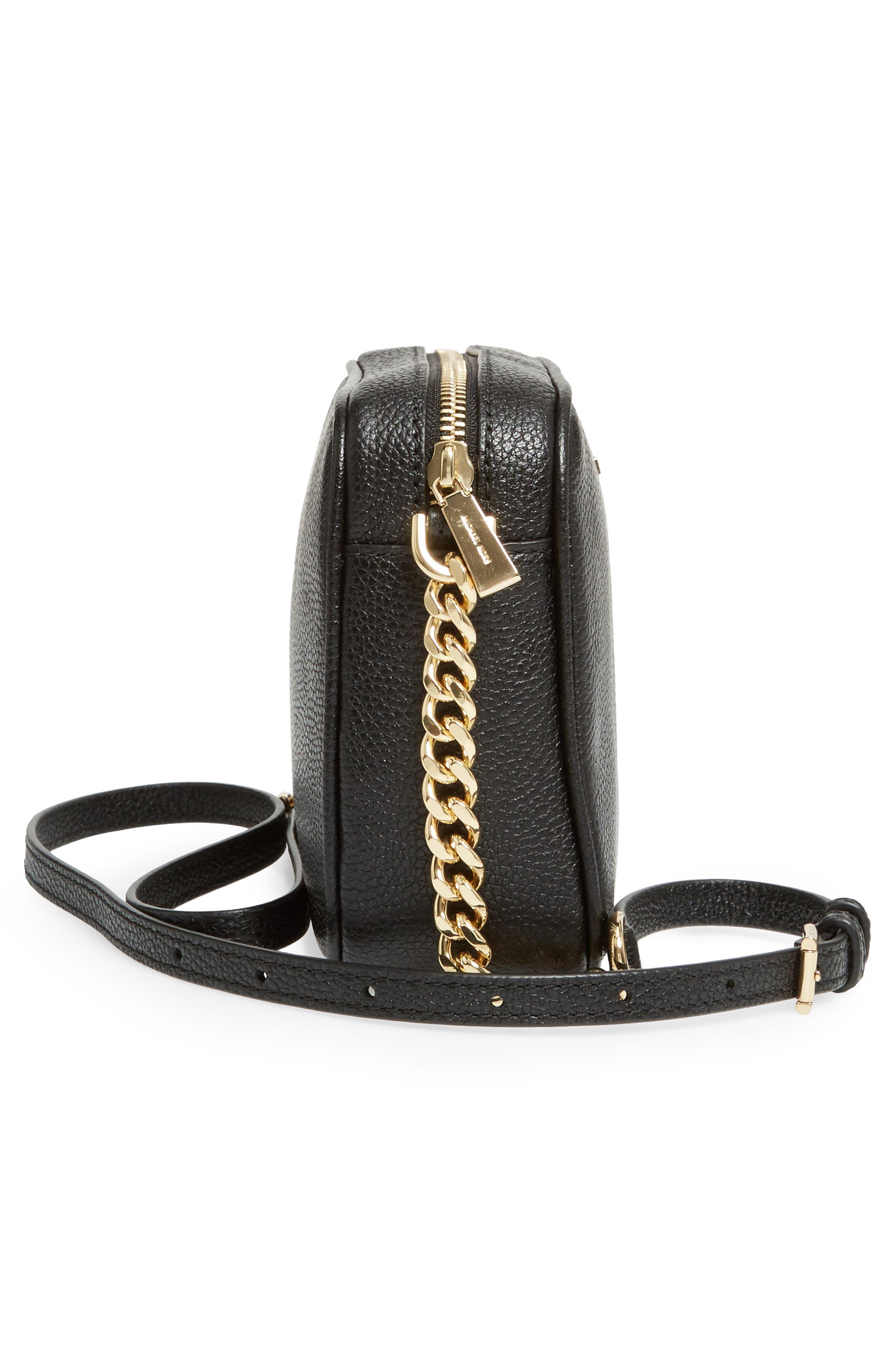 Alternate Image 5  - MICHAEL Michael Kors Medium Ginny Leather Camera Bag