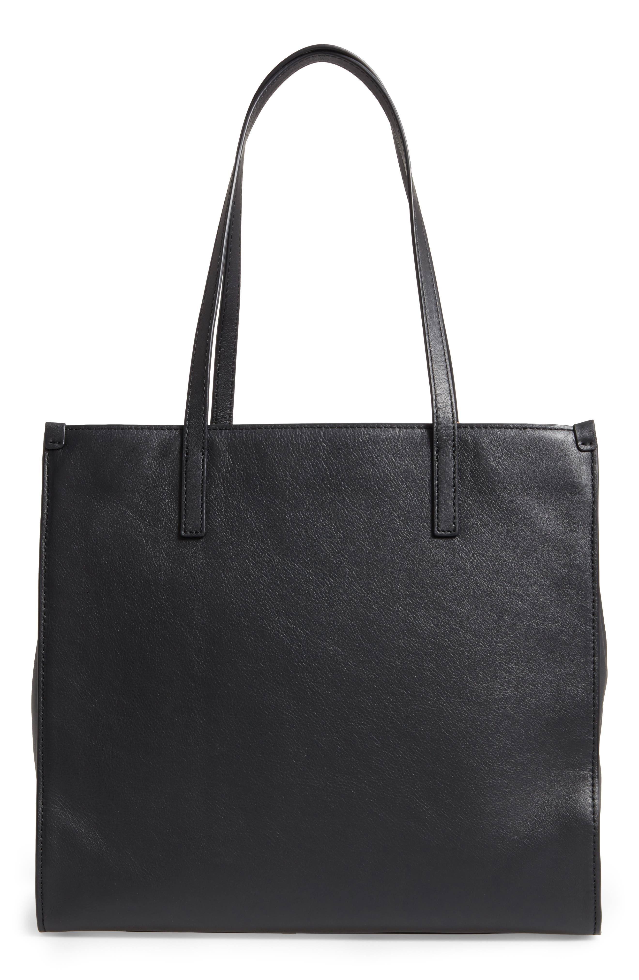 The Snake Grind Leather Tote,                             Alternate thumbnail 2, color,                             Papyrus Multi