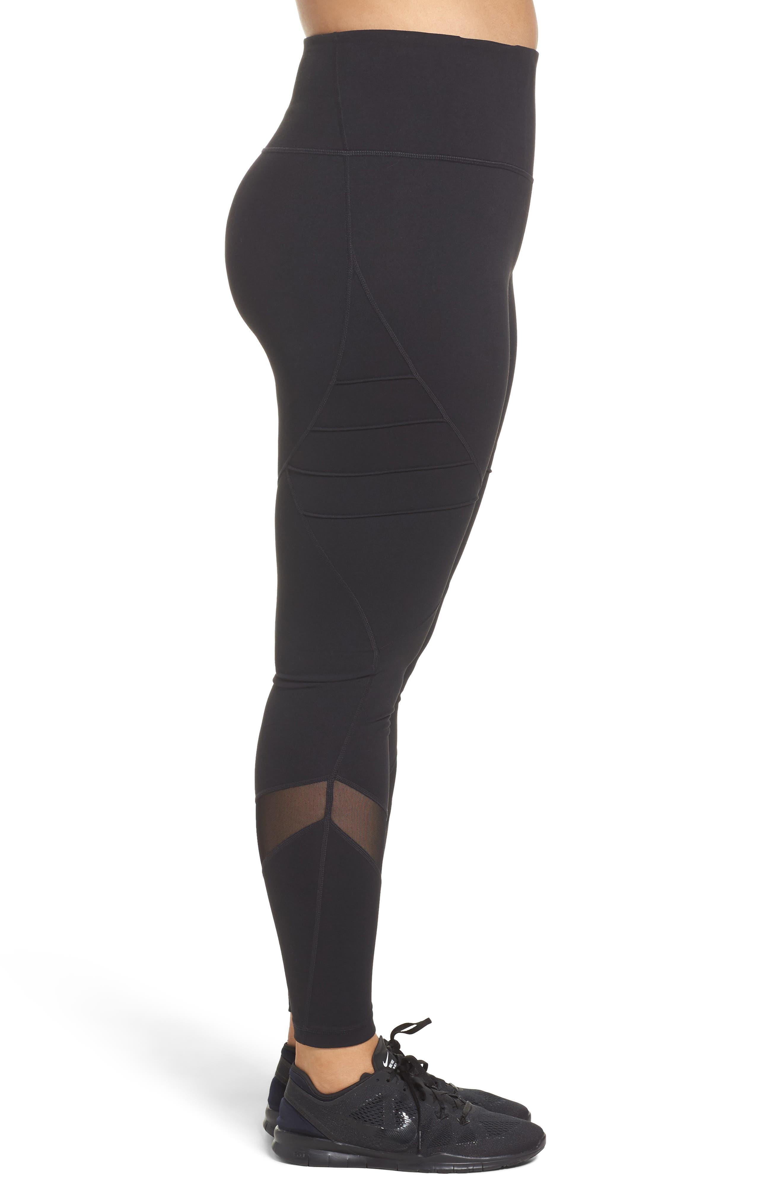 Alternate Image 3  - Zella Infinity High Waist Leggings (Plus Size)