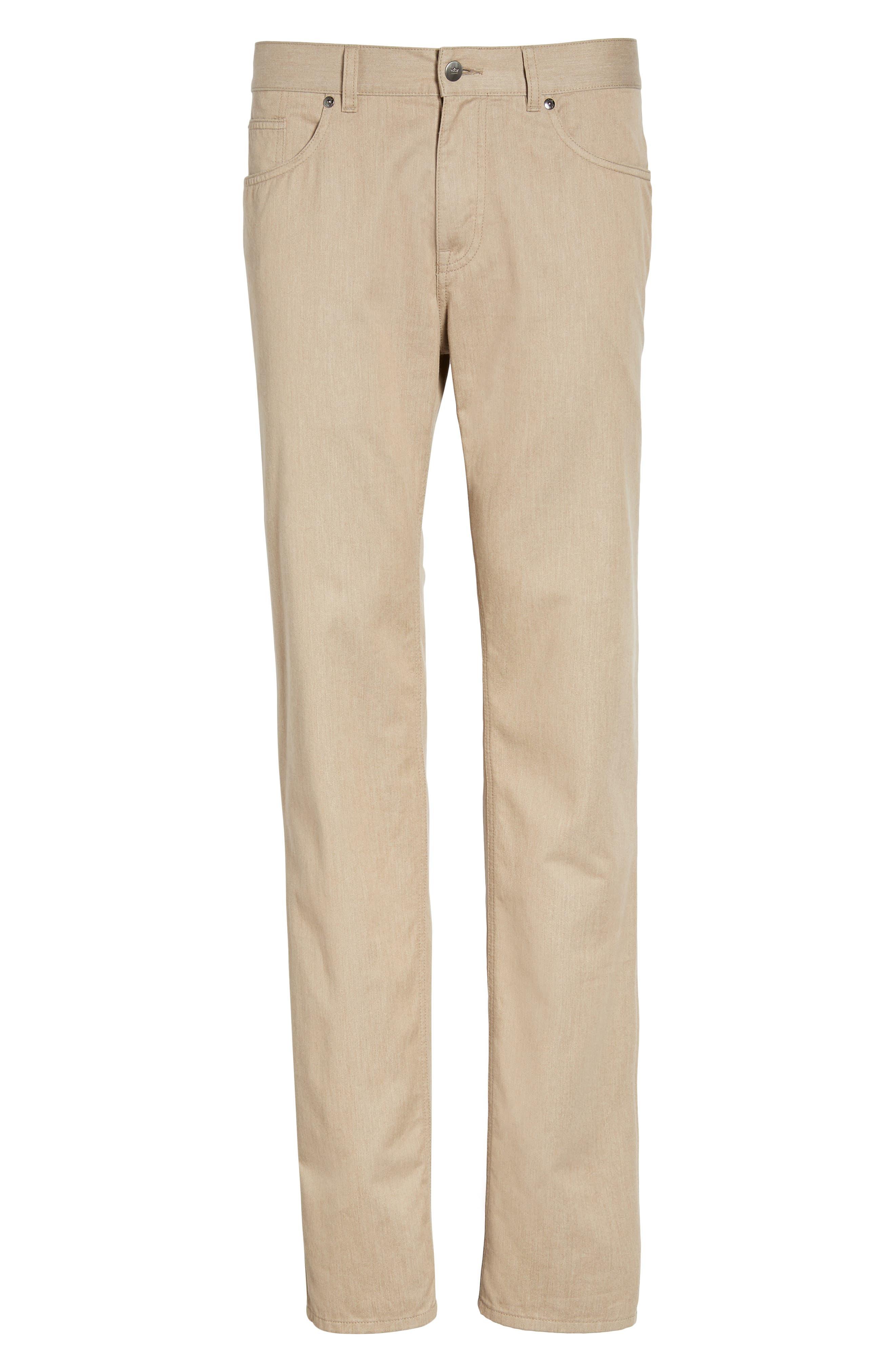 Alternate Image 6  - Peter Millar Mélange Five-Pocket Pants