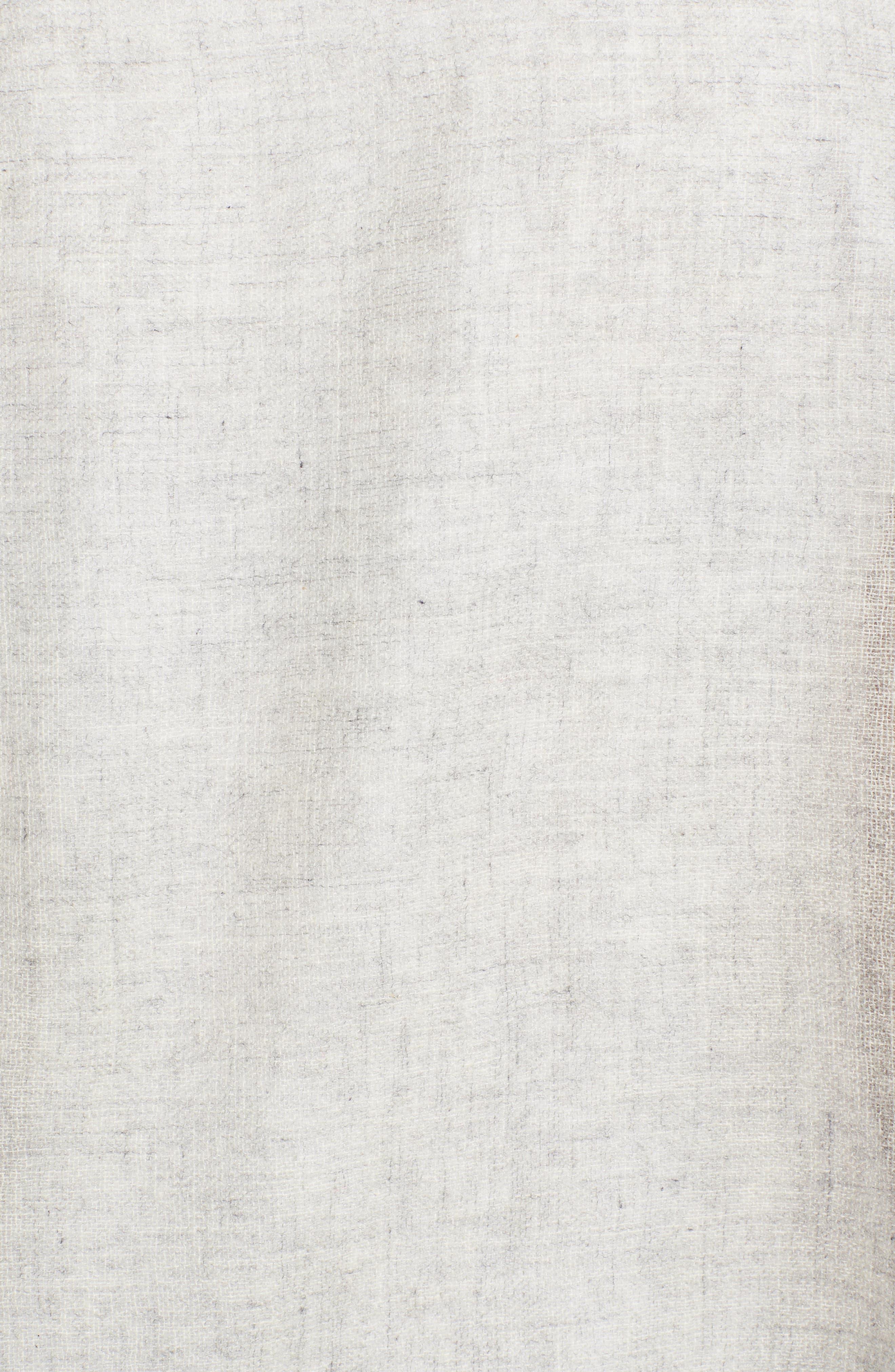 Alternate Image 5  - Caslon Dip Dye Cashmere Wrap