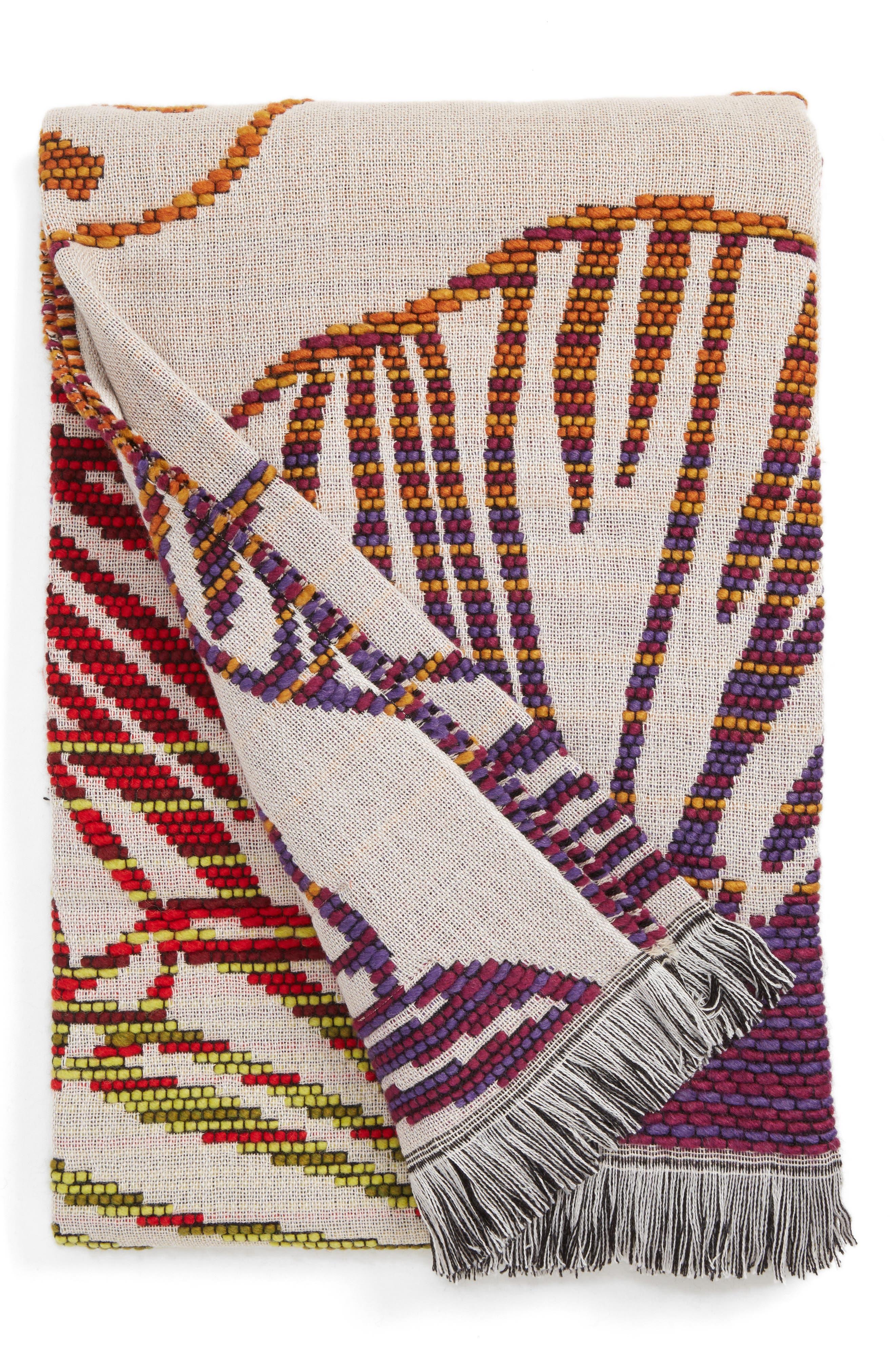 Trina Throw Blanket,                         Main,                         color, Multi Color