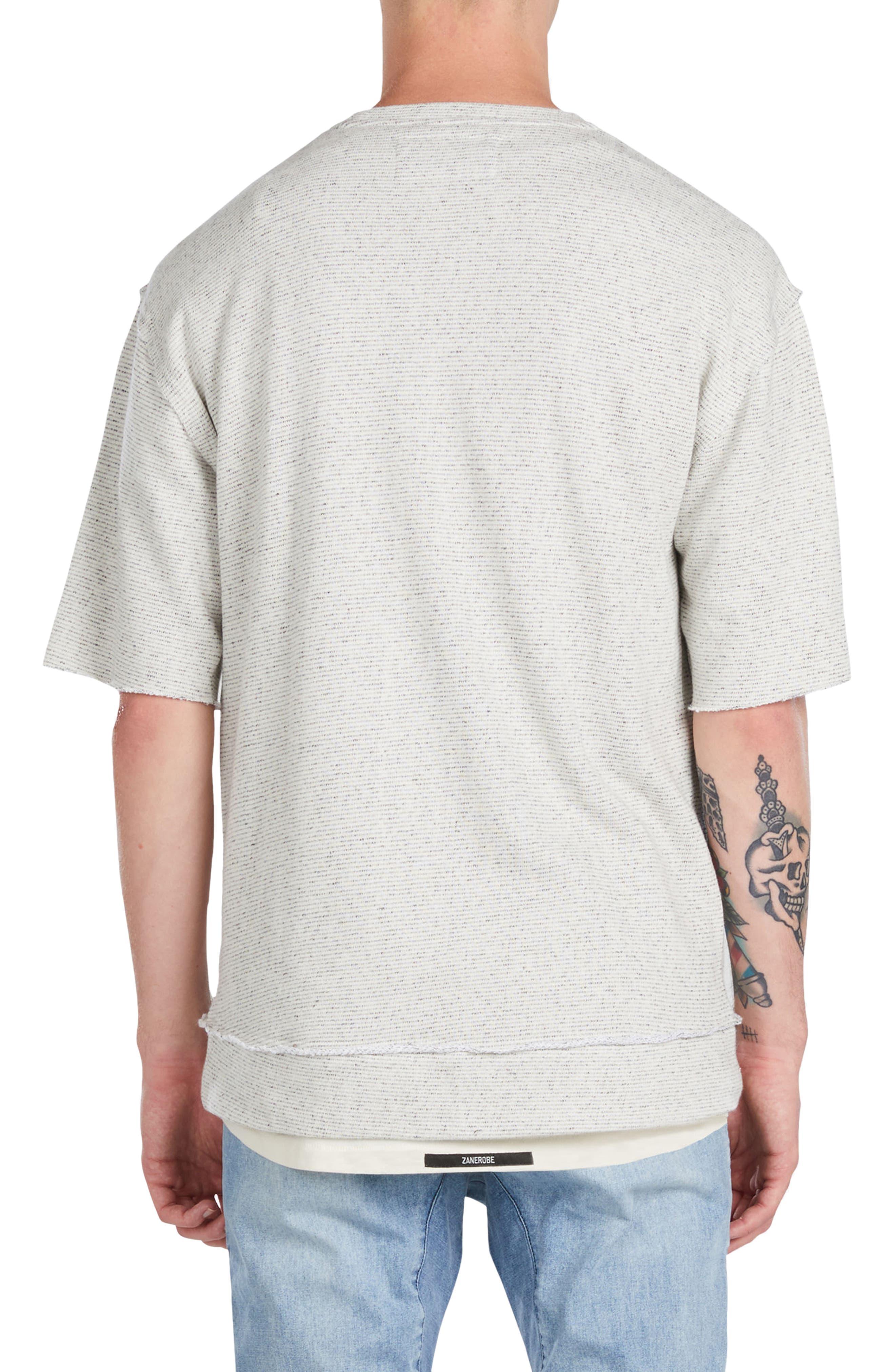 Alternate Image 2  - ZANEROBE Rugger Oversize Half Sleeve Sweatshirt