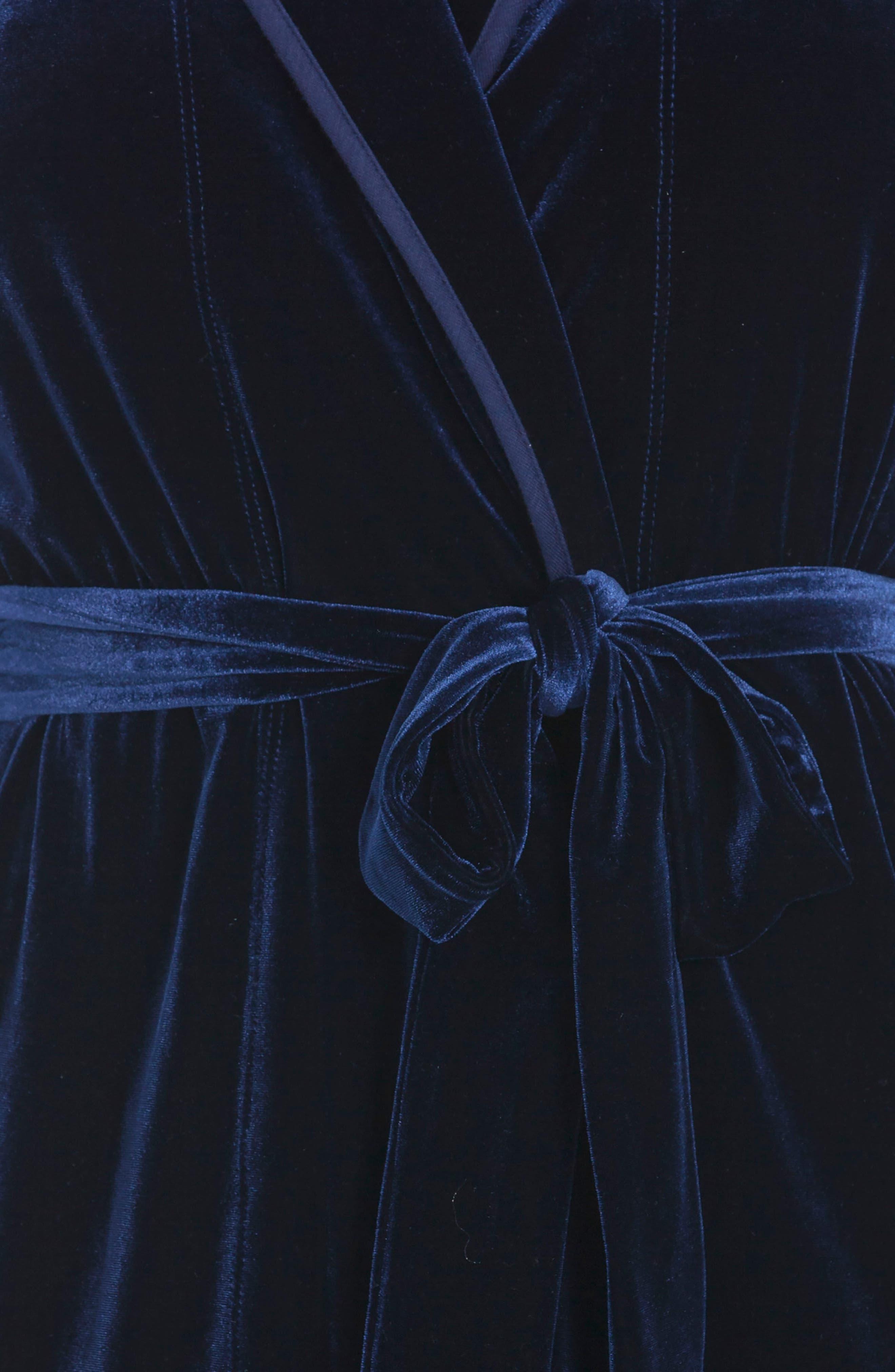 Alternate Image 4  - Jonquil Velvet Robe