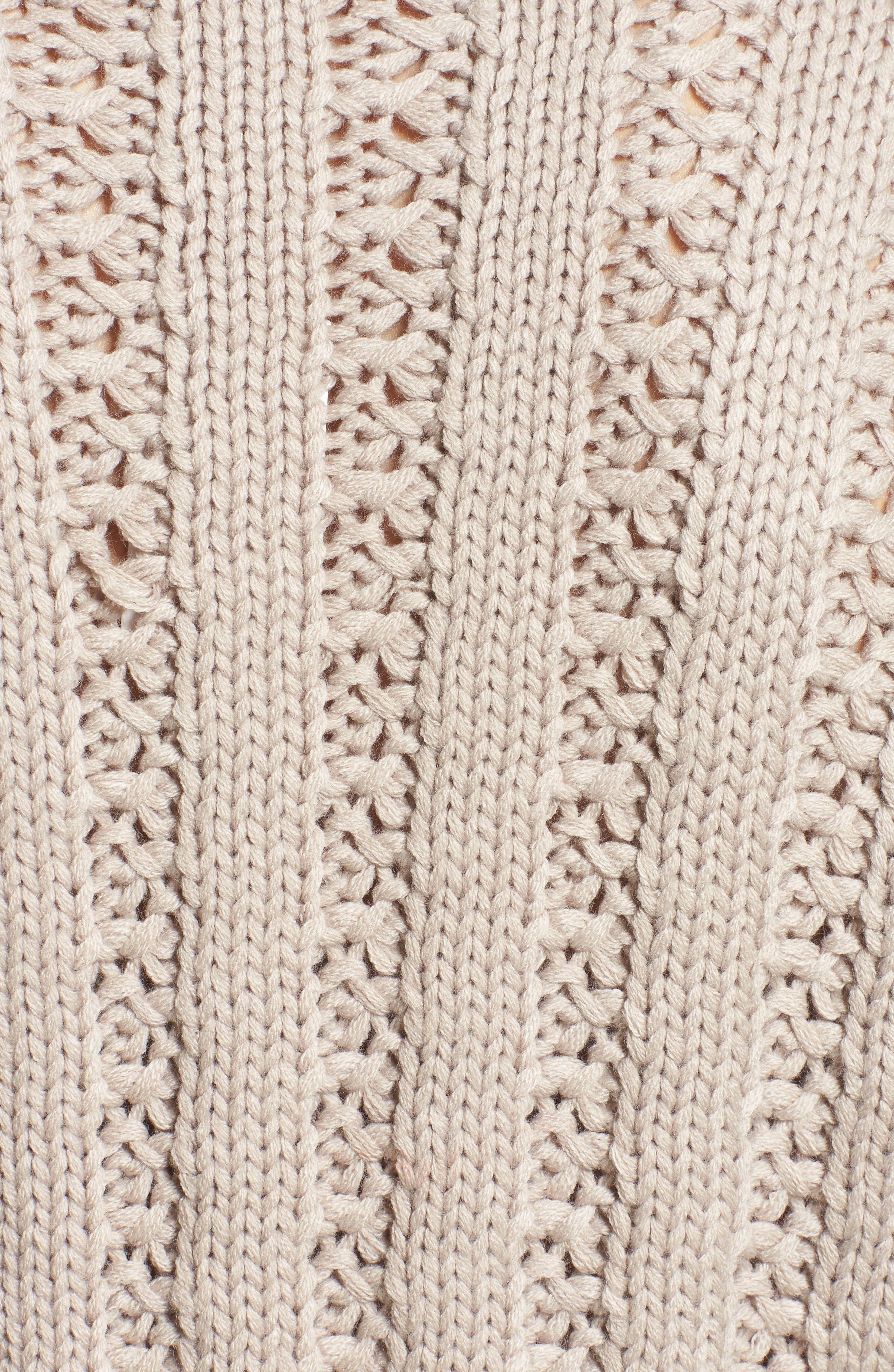 Alternate Image 5  - J.O.A. Chunky Textured Sweater