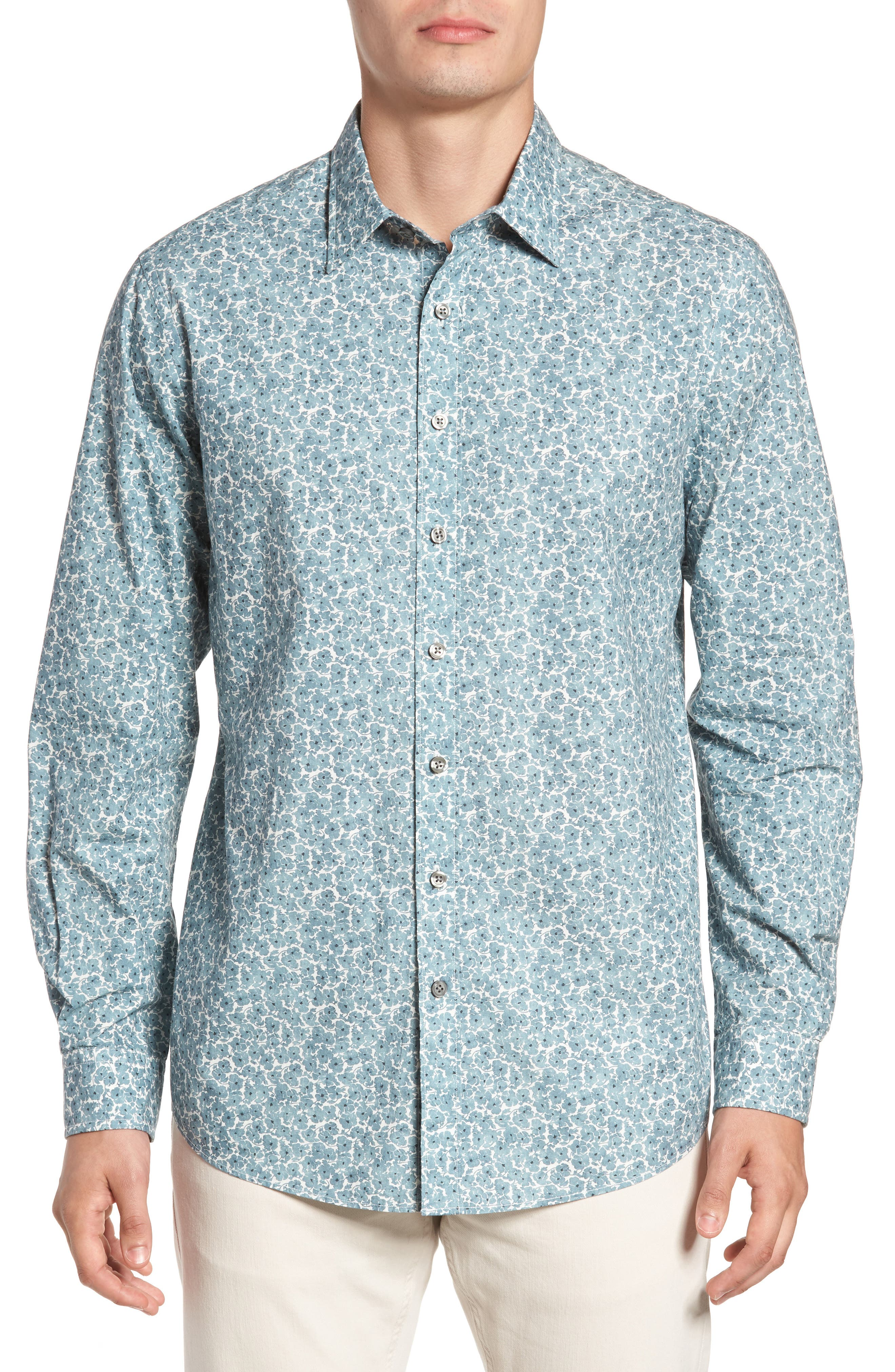 Alternate Image 1 Selected - Rodd & Gunn Mount Whitcombe Original Fit Sport Shirt
