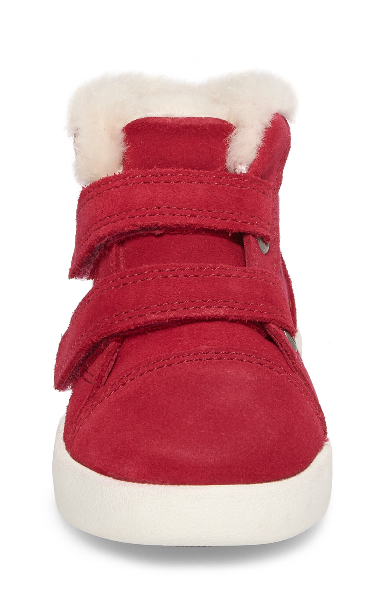 Rennon Stars High Top Sneaker,                             Alternate thumbnail 5, color,                             Brambleberry