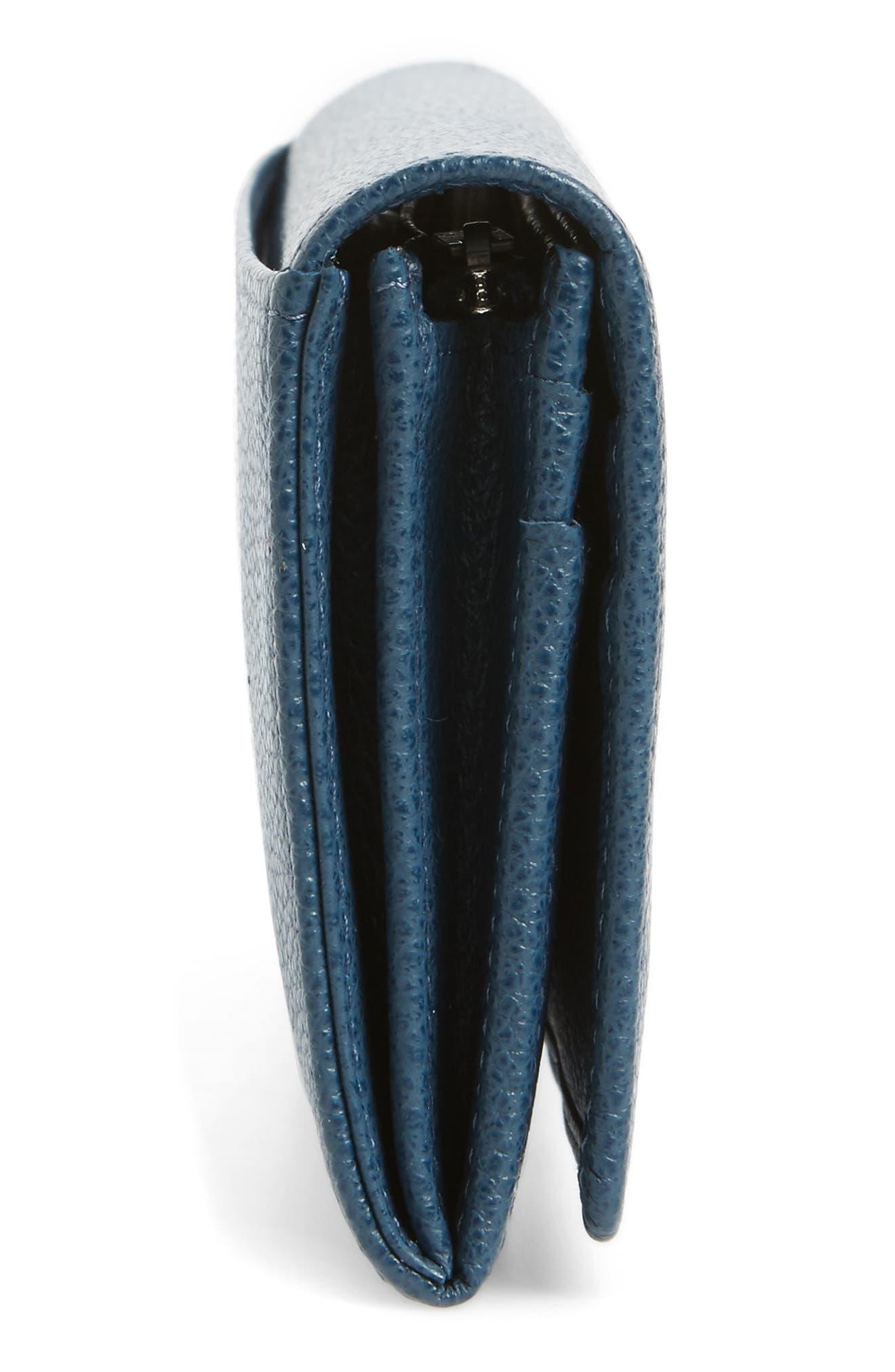 Alternate Image 5  - Longchamp 'Veau Foulonne' Continental Wallet
