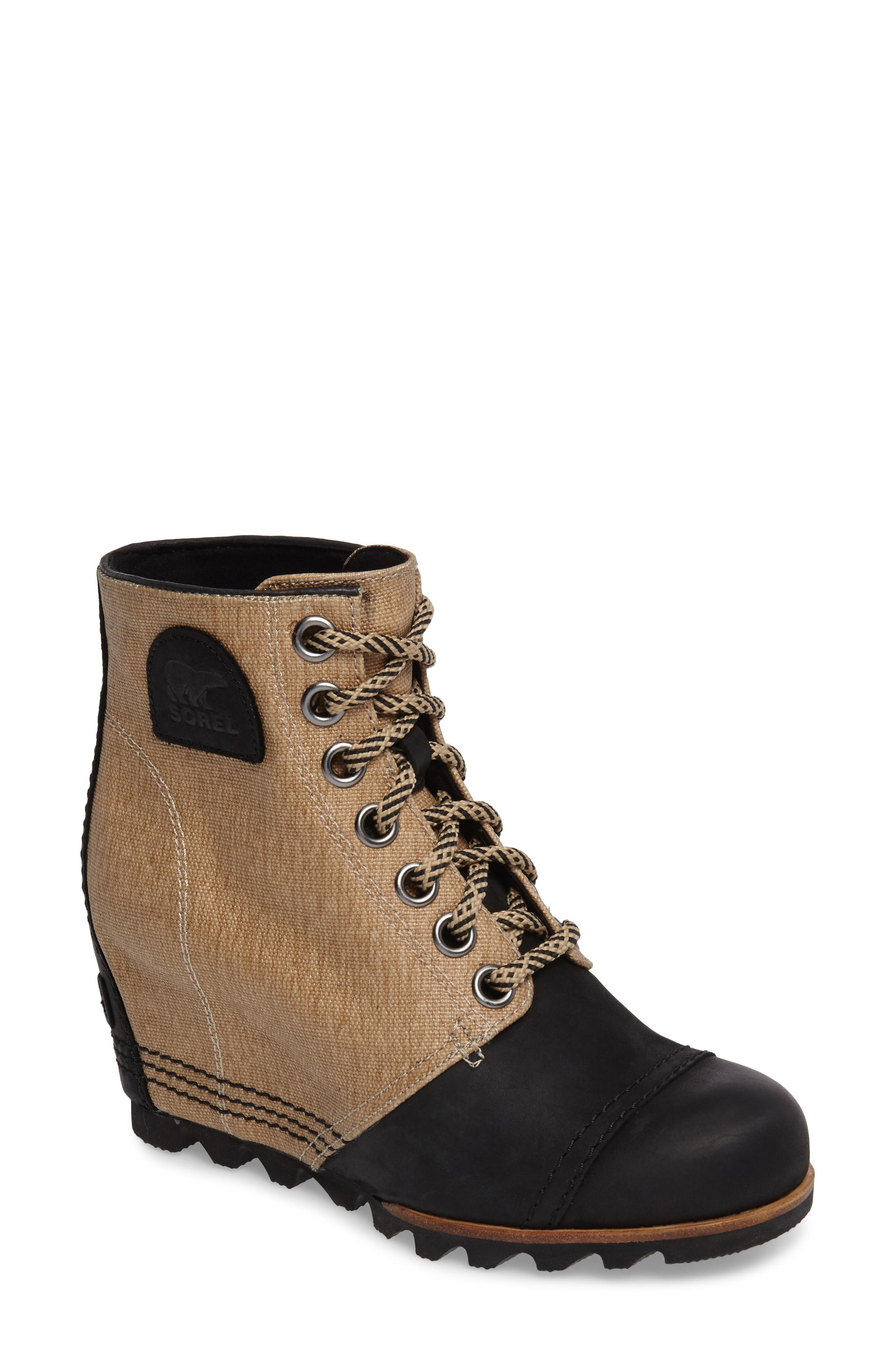 SOREL PDX™ Waterproof Wedge Bootie (Women)