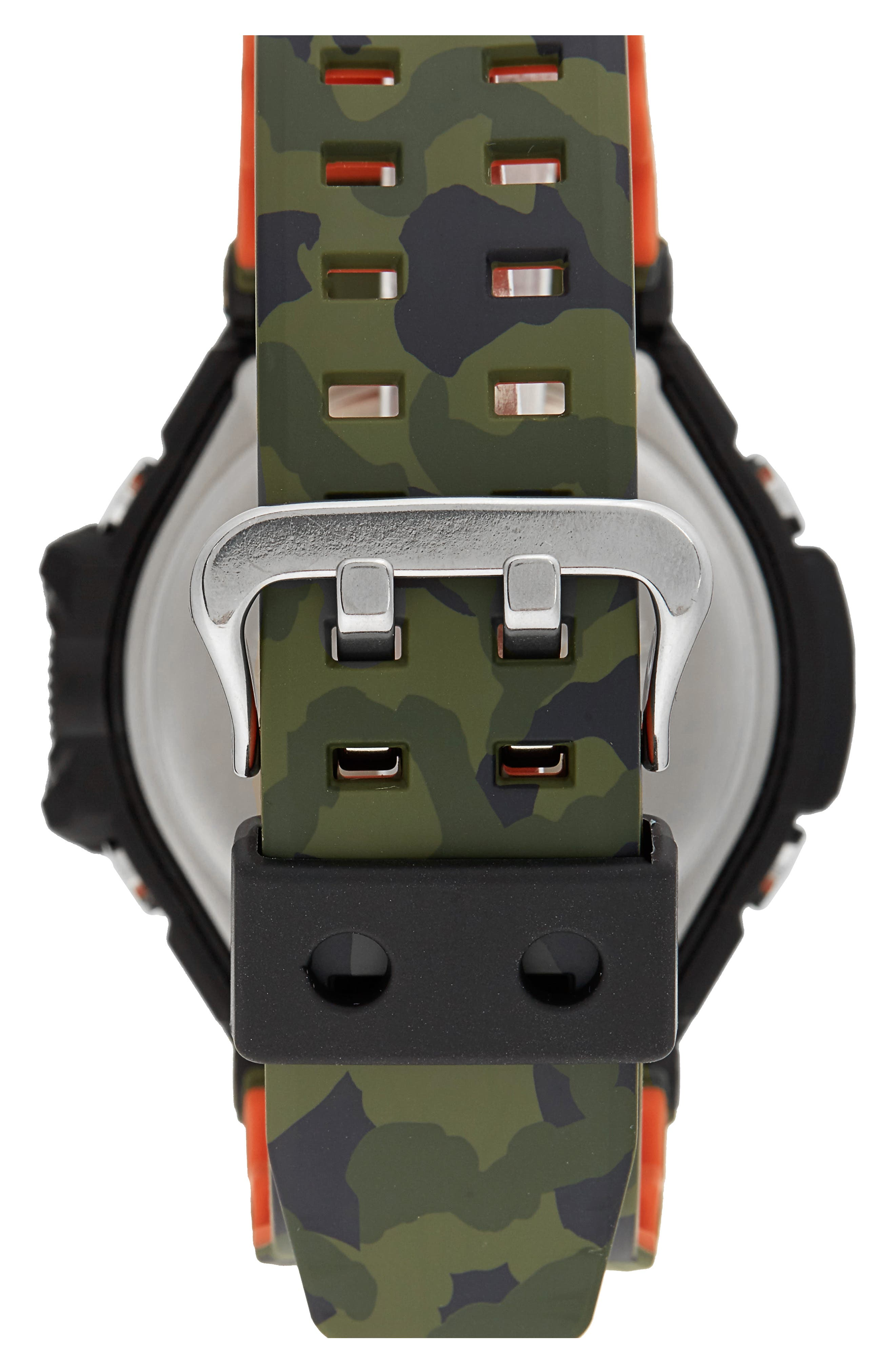 Alternate Image 2  - G-Shock Gravitymaster Ana-Digi Resin Watch, 52mm
