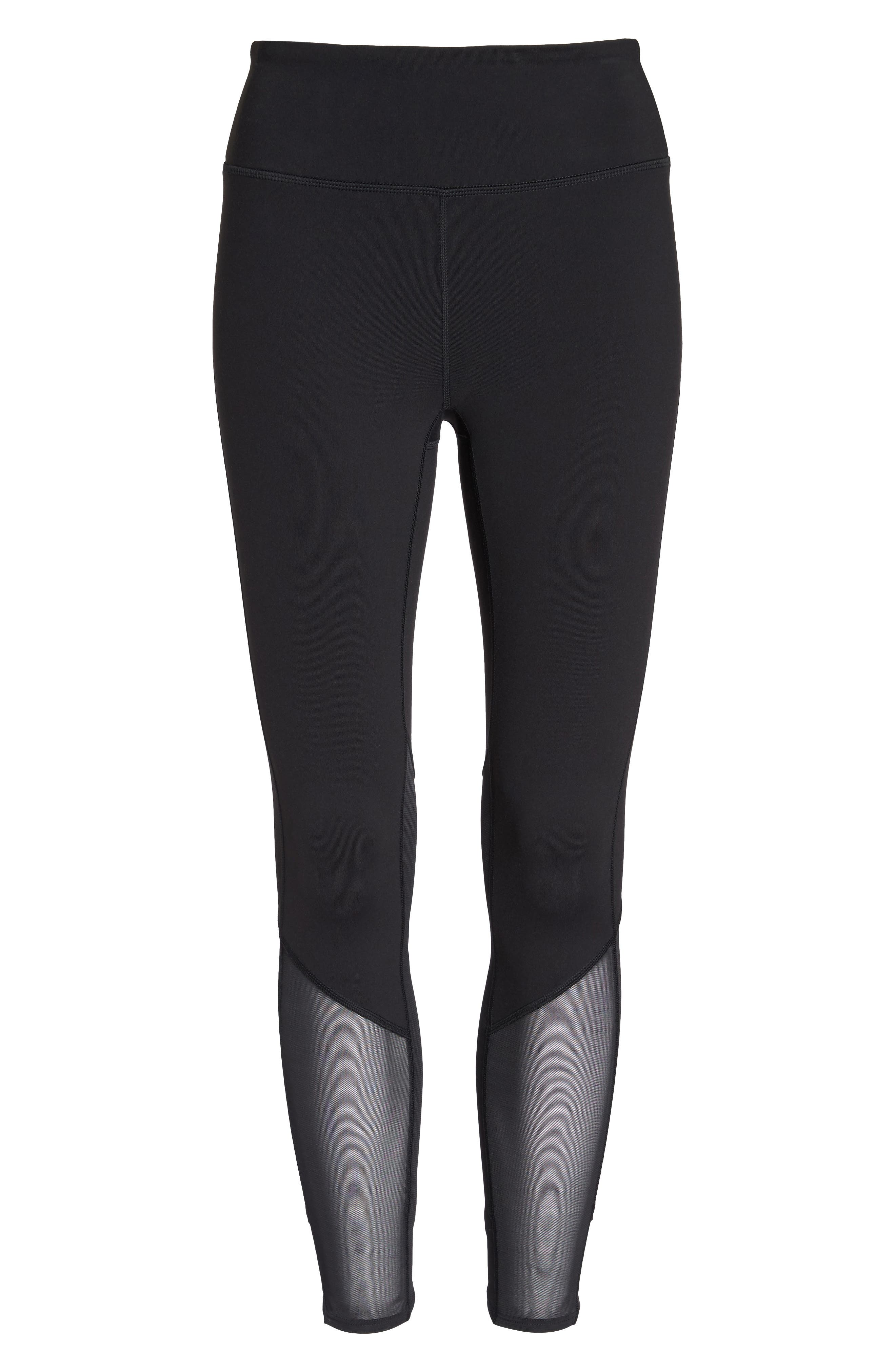 Alternate Image 6  - New Balance Elixir High Waist Ankle Leggings
