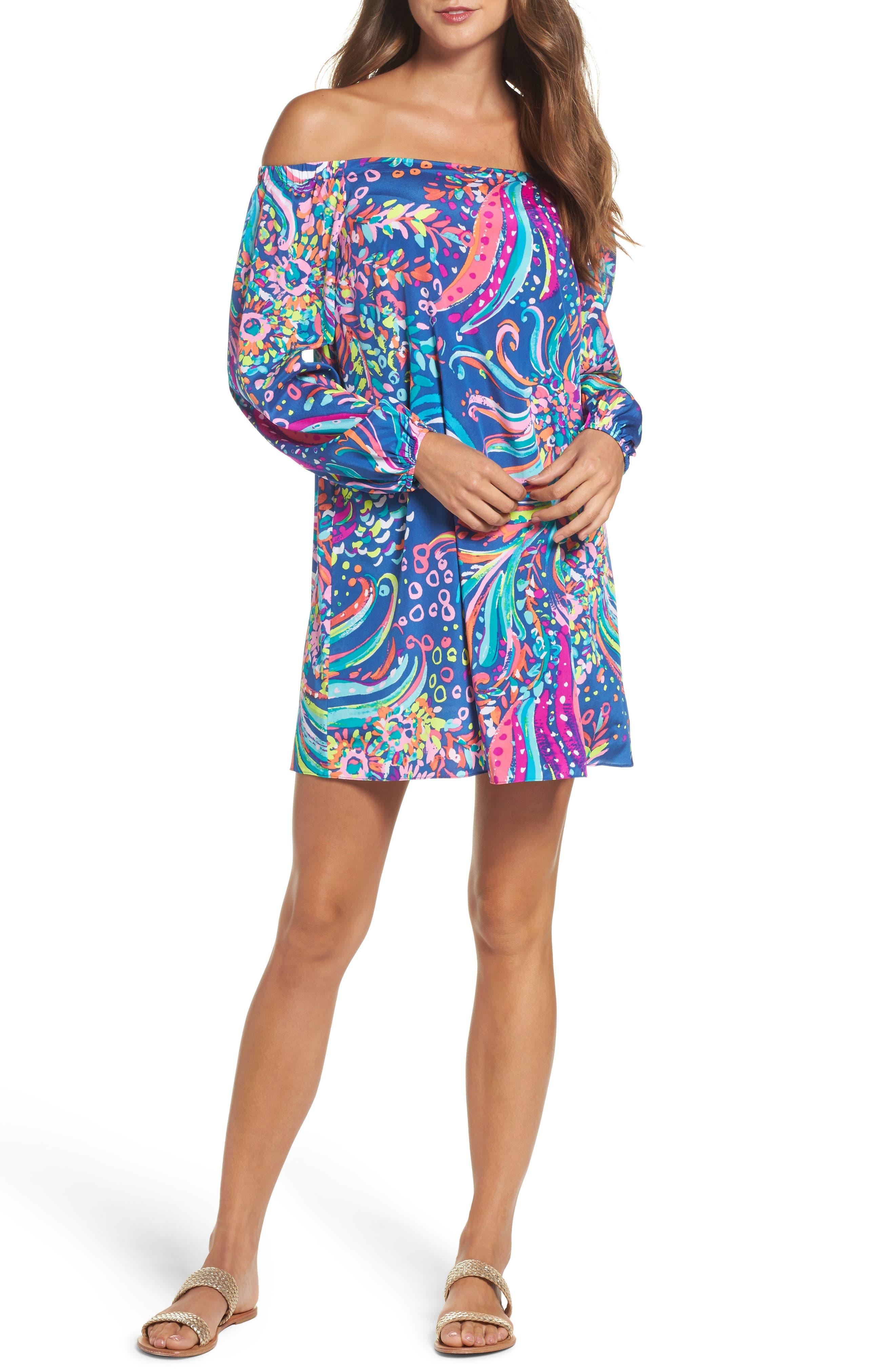 Lilly Pulitzer® Adira Stretch Silk Dress