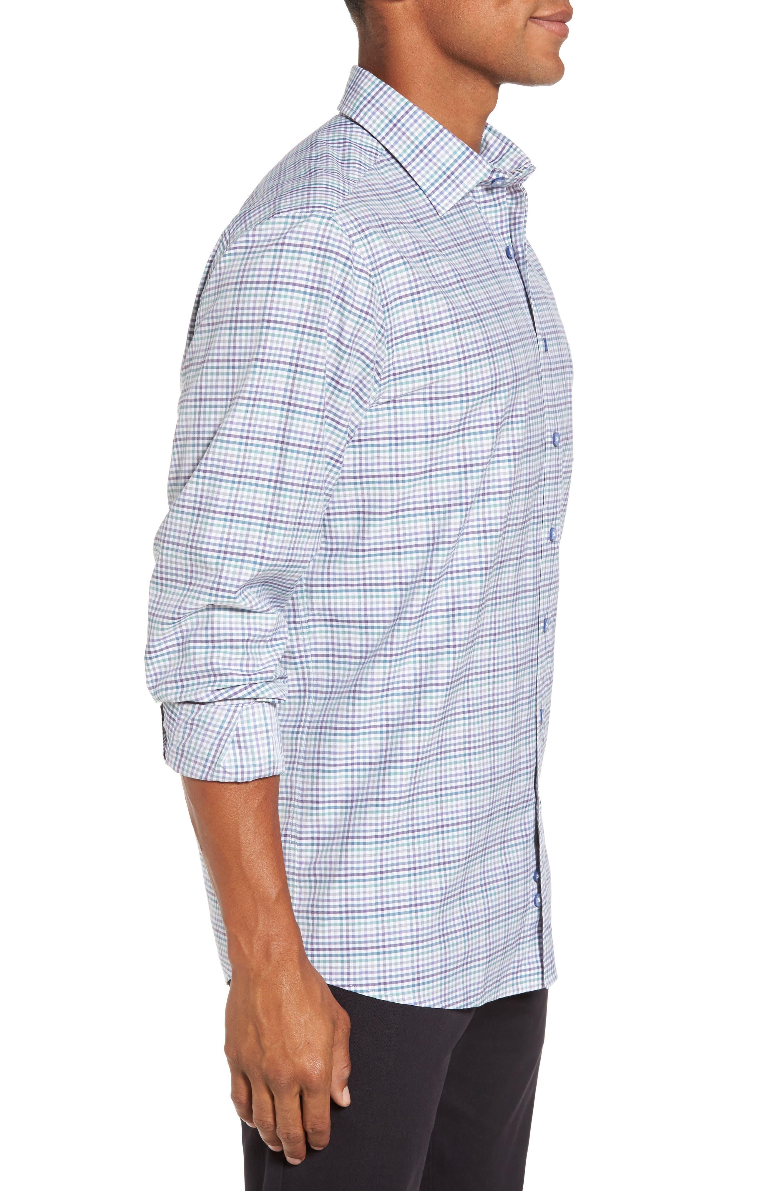 Alternate Image 3  - Rodd & Gunn Woodlaw Original Fit Check Sport Shirt