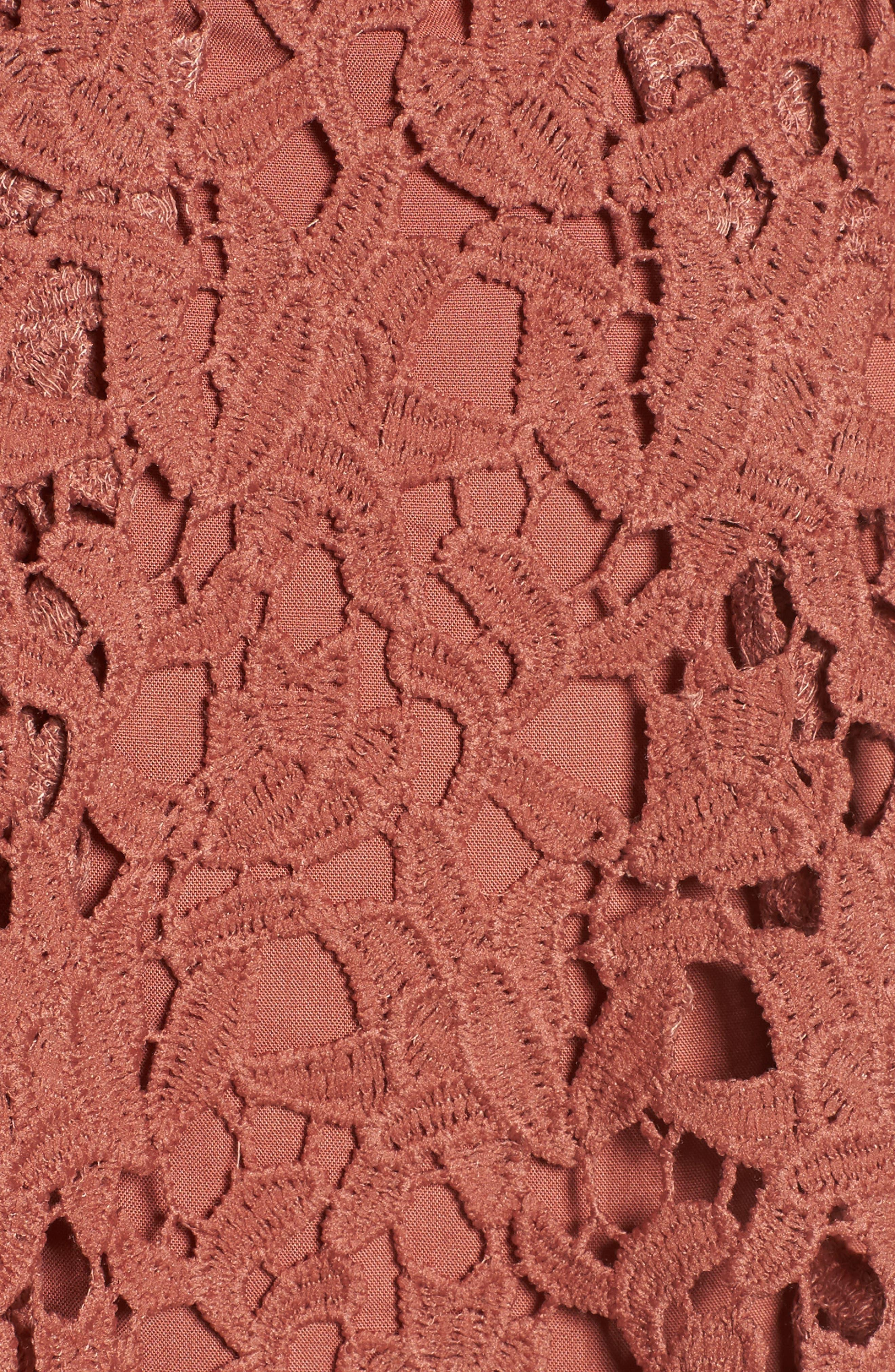 Alternate Image 5  - ASTR the Label Lace Midi Dress
