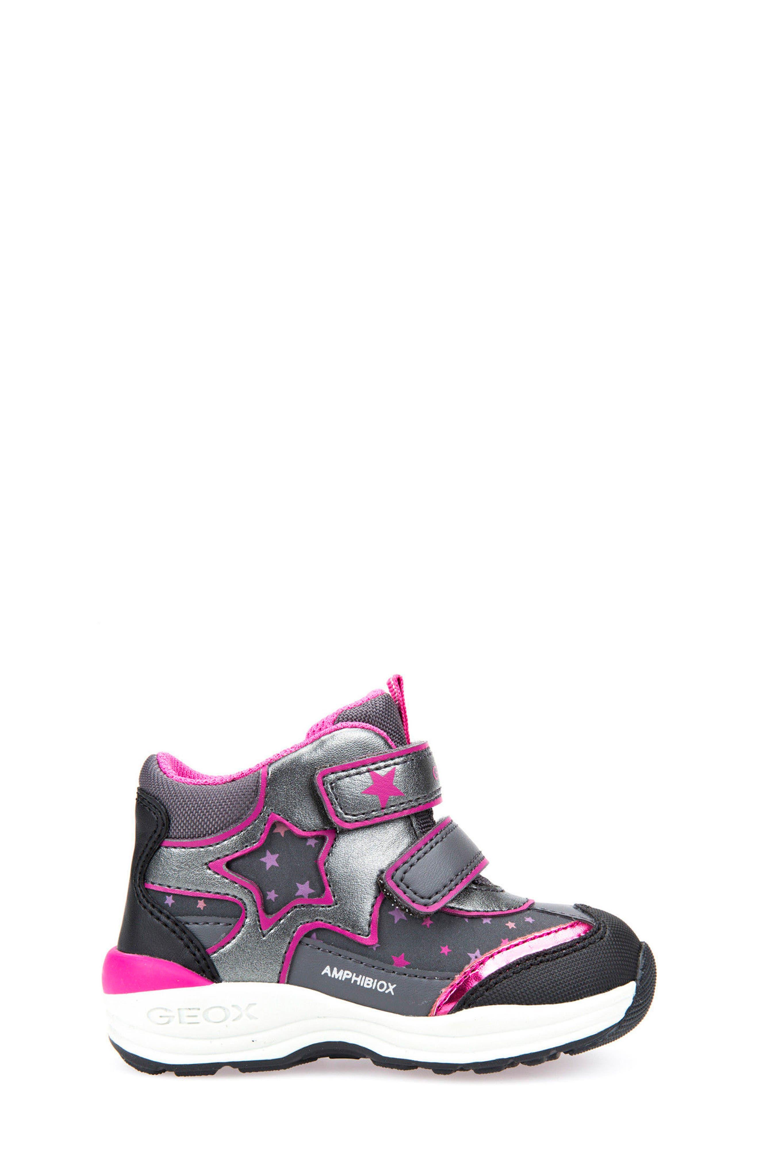Alternate Image 3  - Geox Gulp ABX Waterproof Star Sneaker Boot (Walker & Toddler)