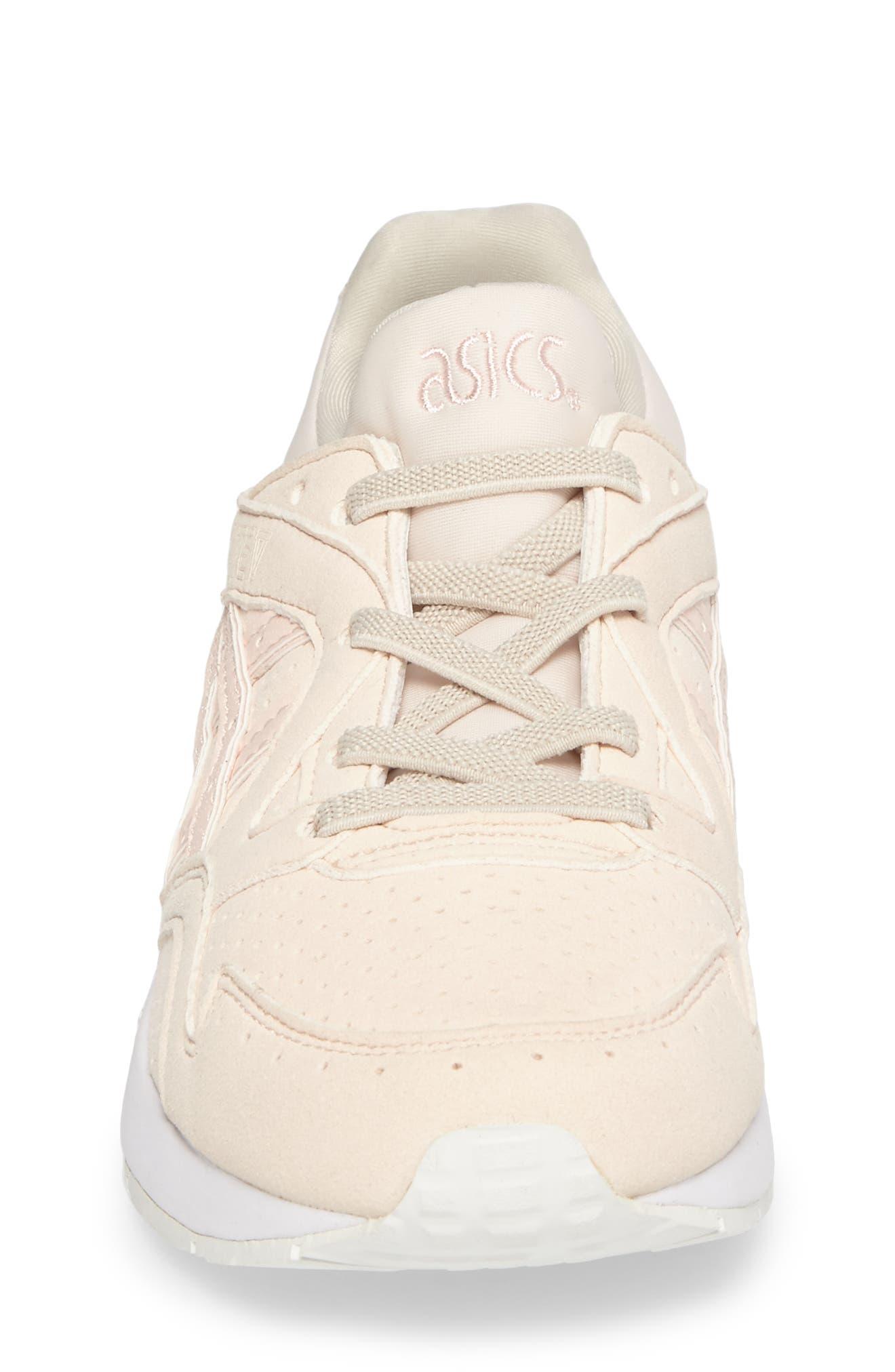 GEL-Lyte V Sneaker,                             Alternate thumbnail 4, color,                             Vanilla Cream/ Vanilla Cream